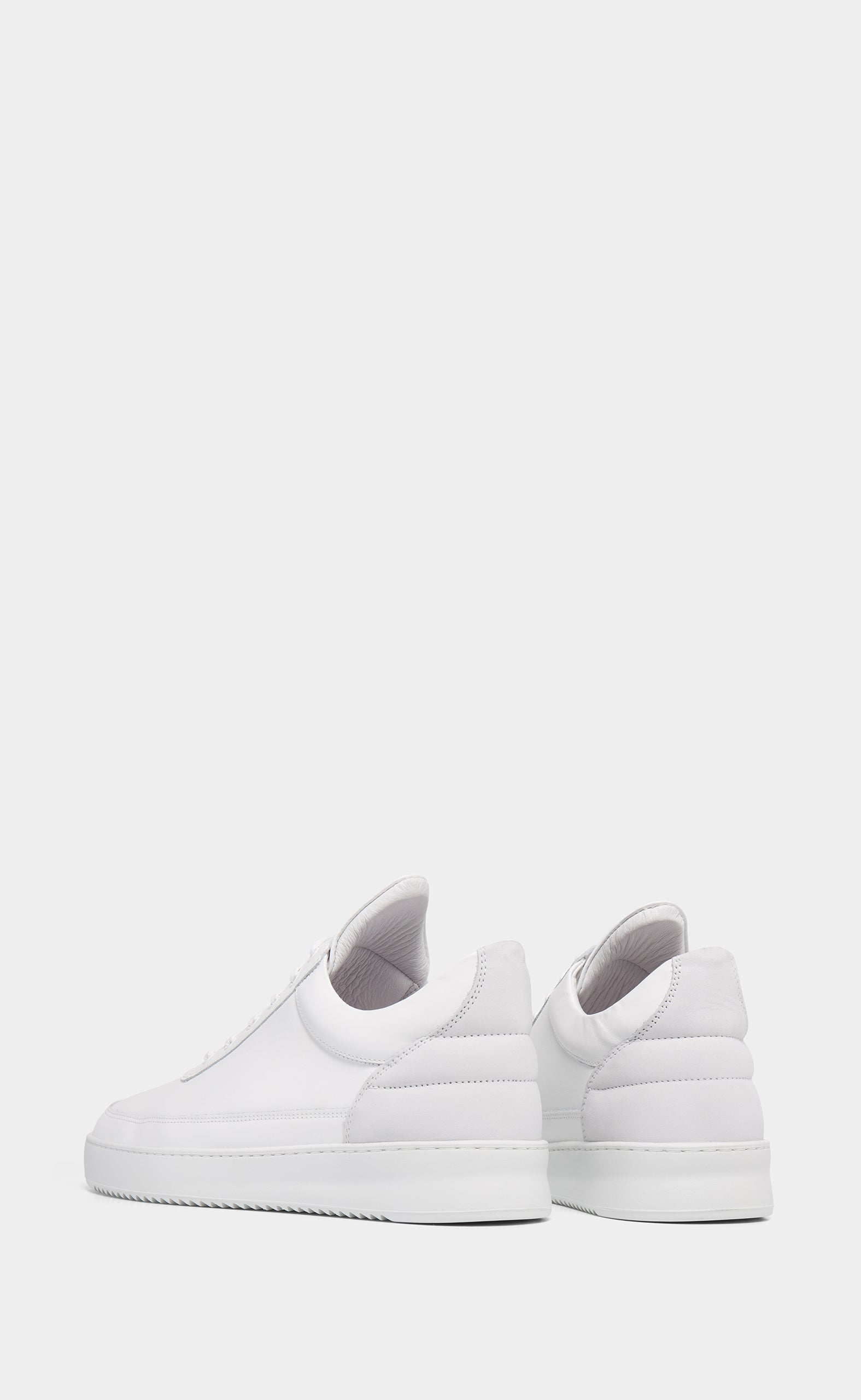 Low Top Nappa White