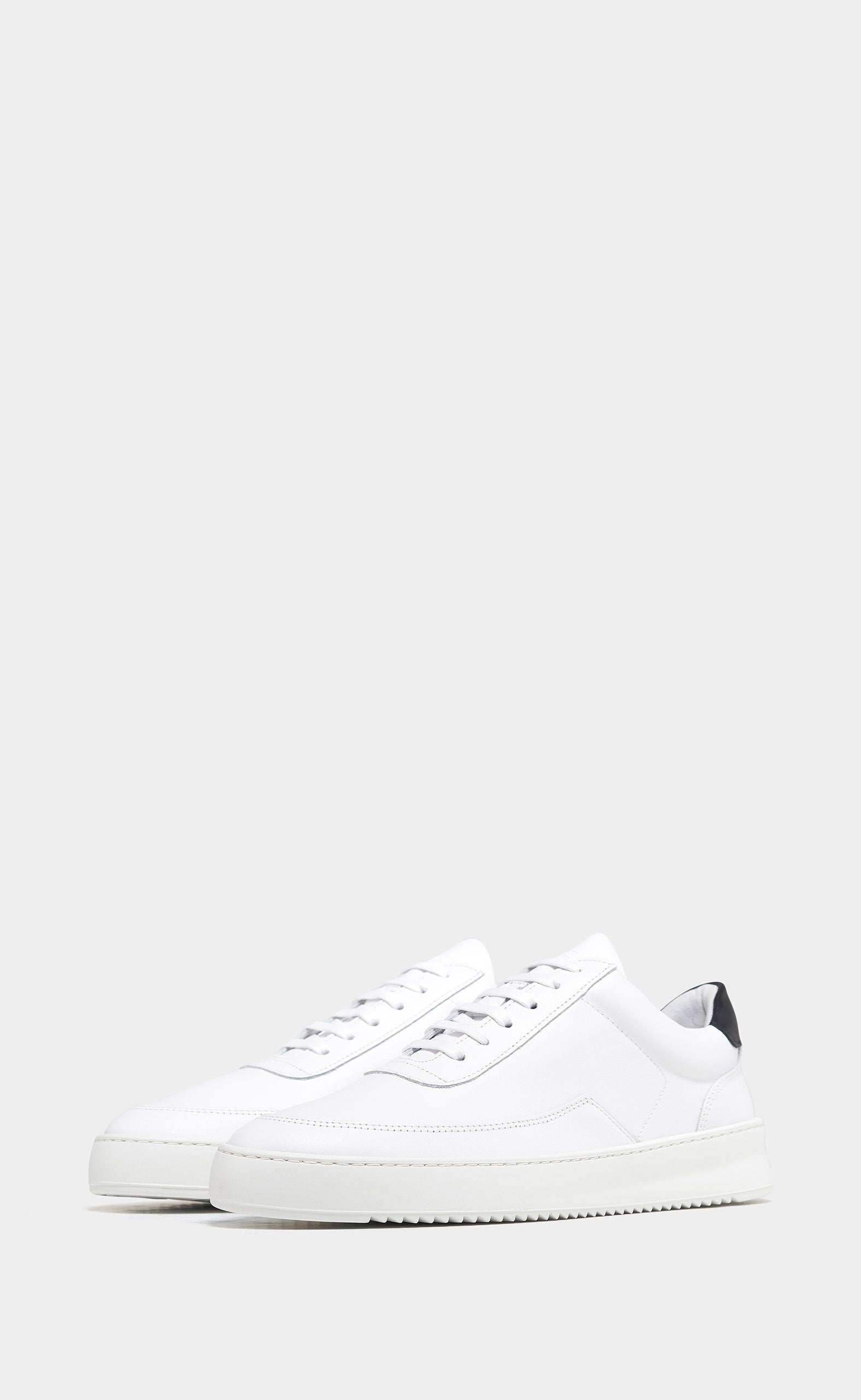 Mondo Ripple Nappa White/Black