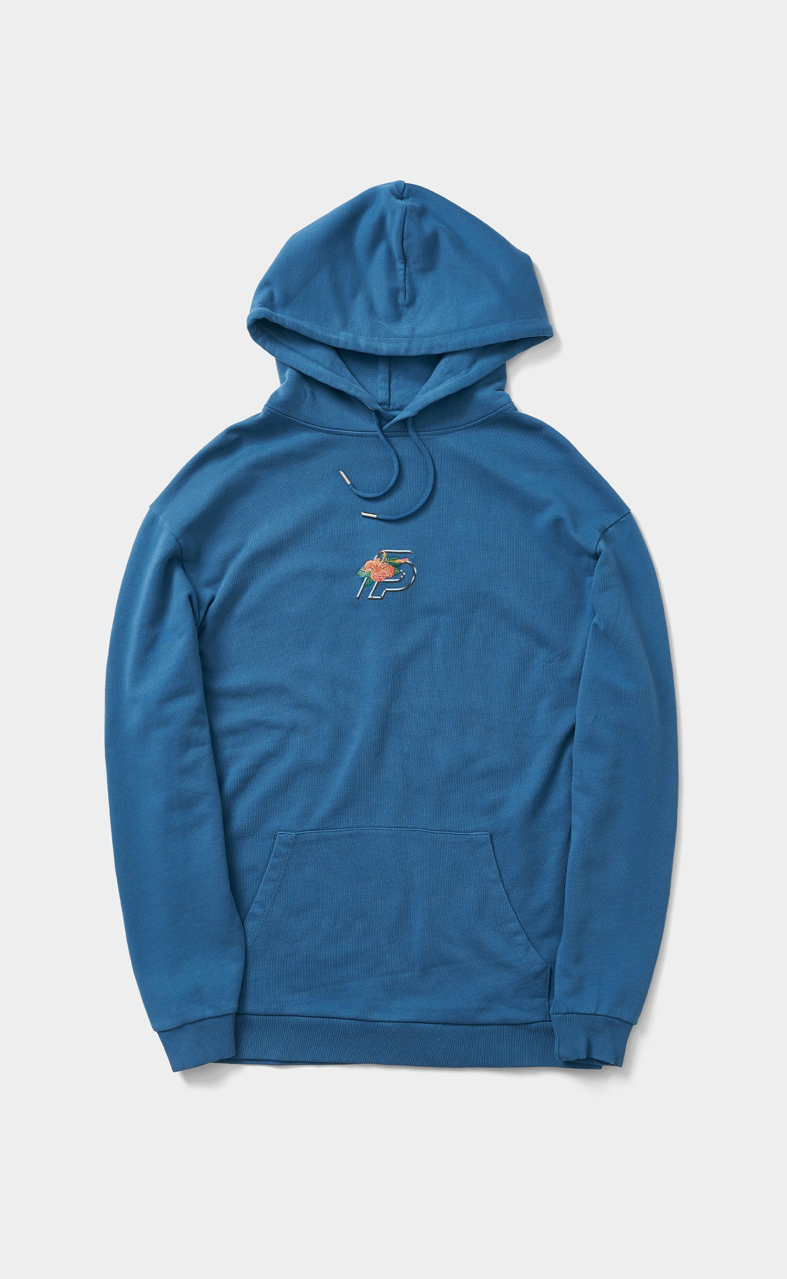 Graphic Hoodie FP Flower Saxony Blue - men