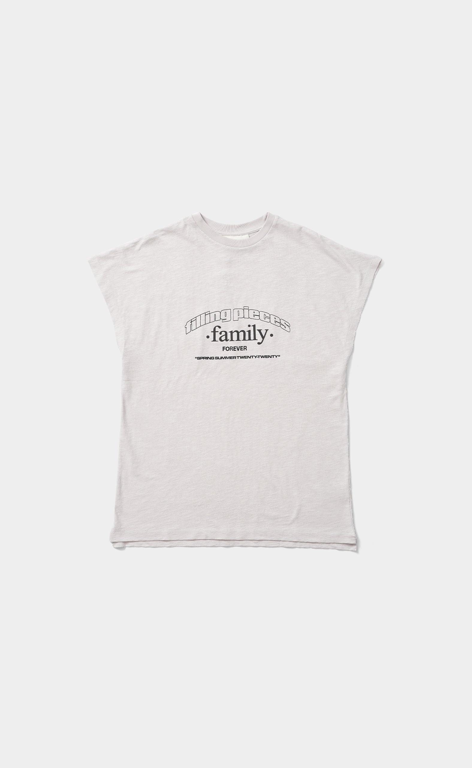 Graphic Sleeveless Tee FP Family Whitecap Grey - men