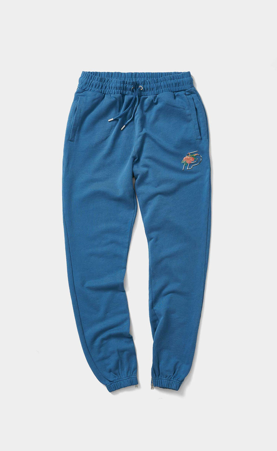 Graphic Sweatpants FP Flower Saxony Blue - men