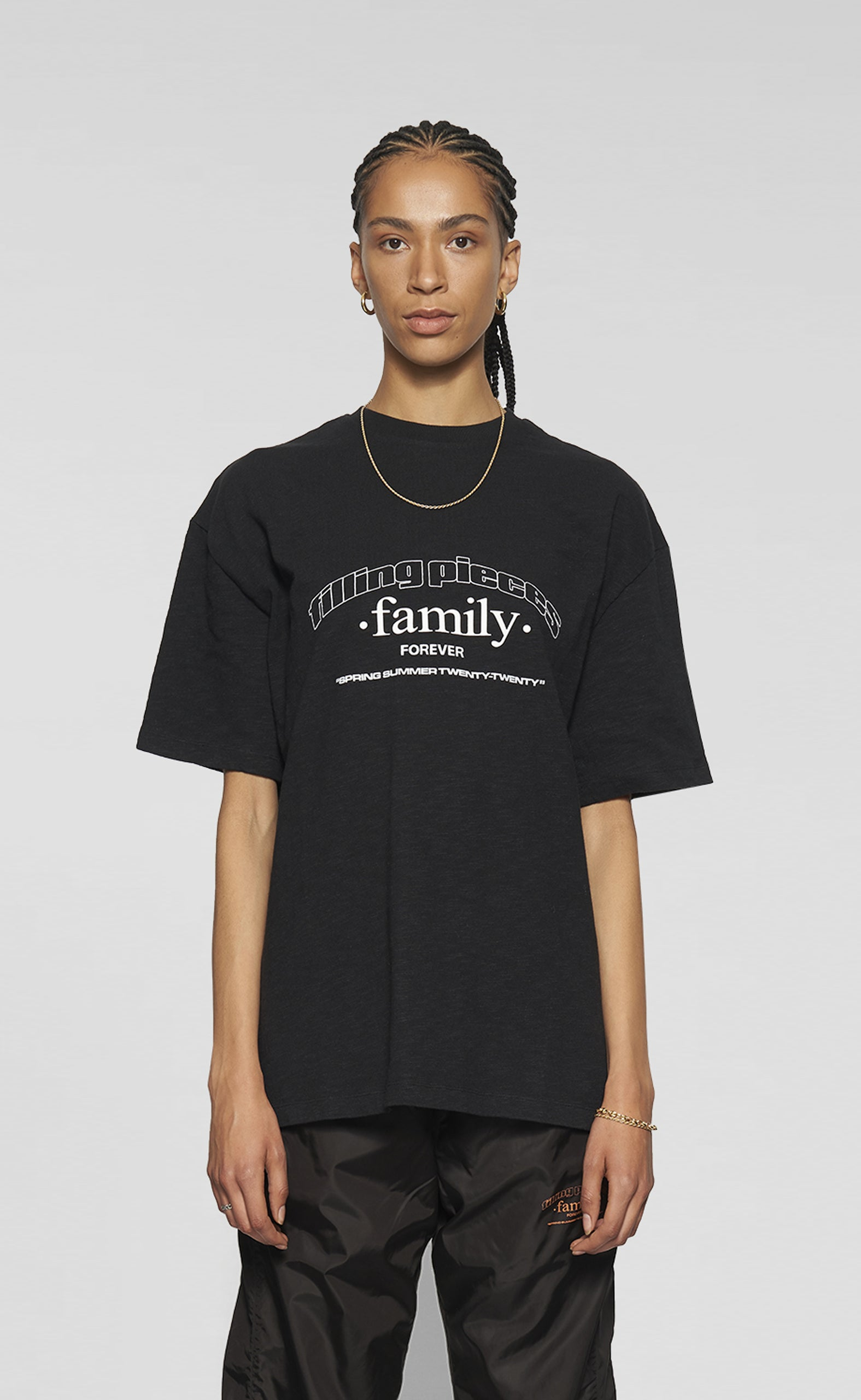 Graphic Tee FP Family Black - women