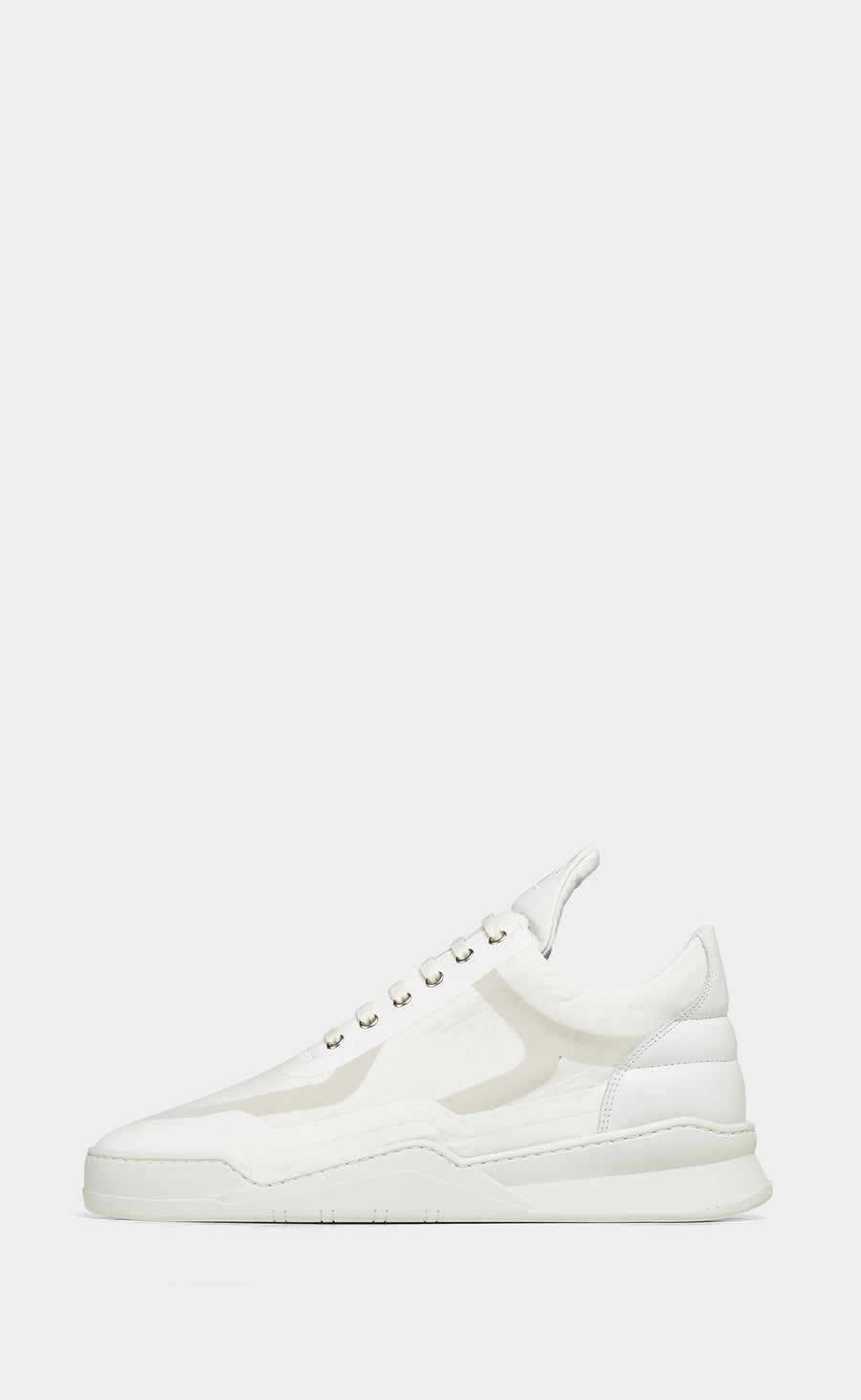 Low Top Ghost Steam All White - men