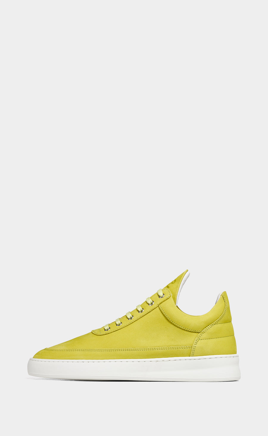 Low Top Plain Lane Nubuck Yellow - men