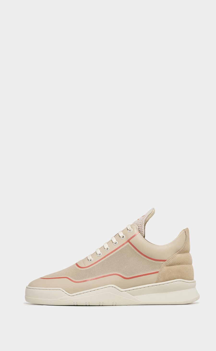 Low Top Ghost Silk Beige Orange - men