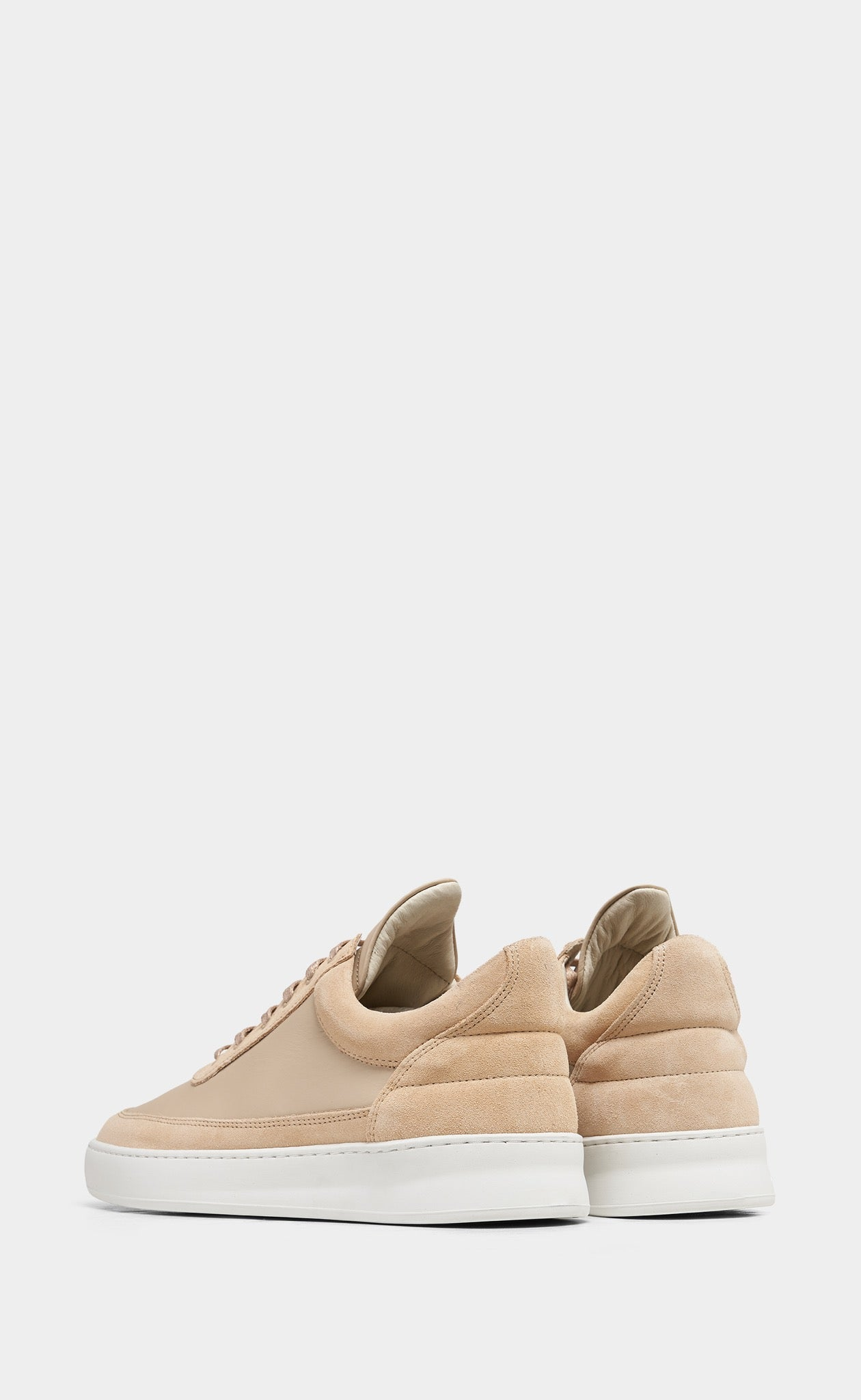 Low Top Plain Infinite Beige