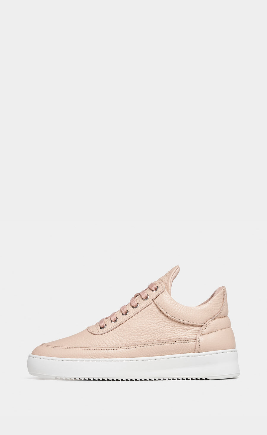 Low Top Ripple Grain Light Pink