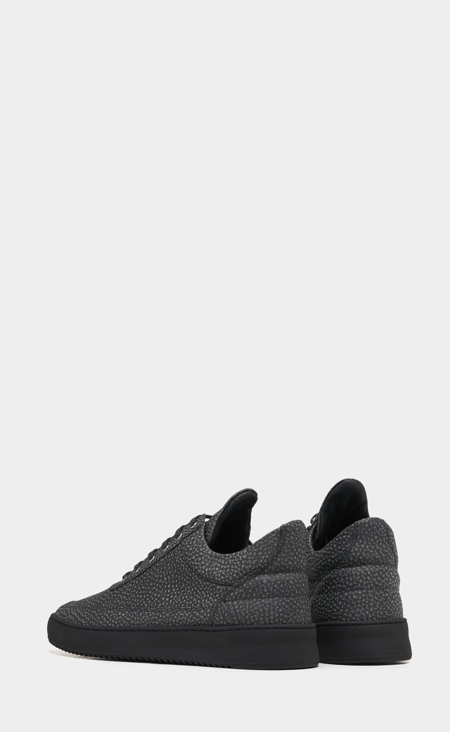 Low Top Ripple Moor All Black