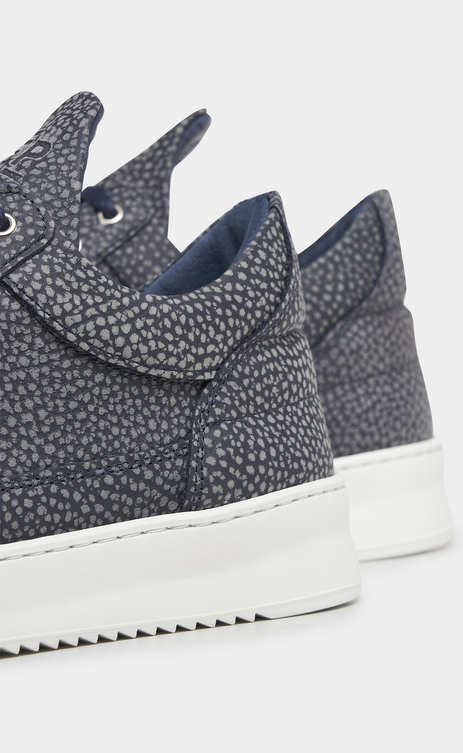 Low Top Ripple Moor Navy Blue