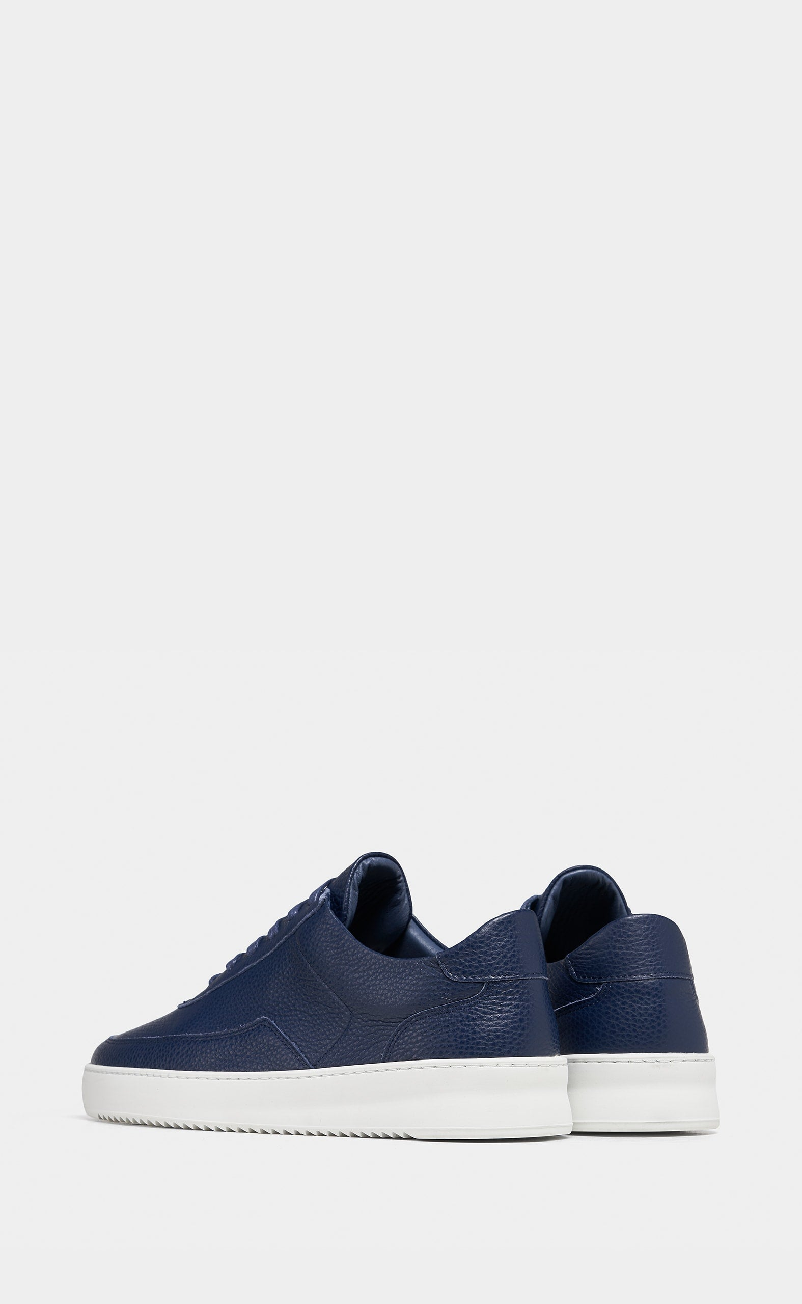 Mondo Ripple Grain Navy Blue - men