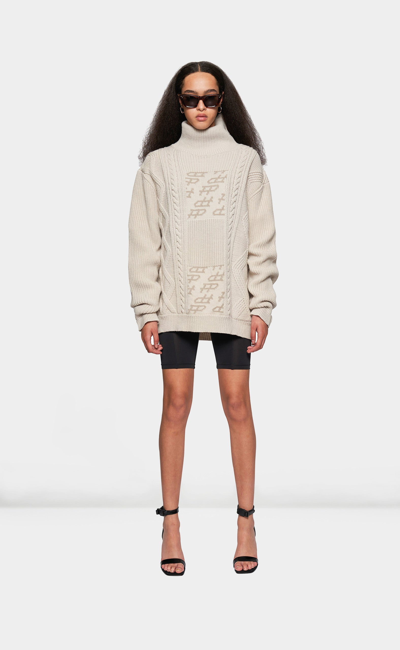 Heavy Knit Beige - women