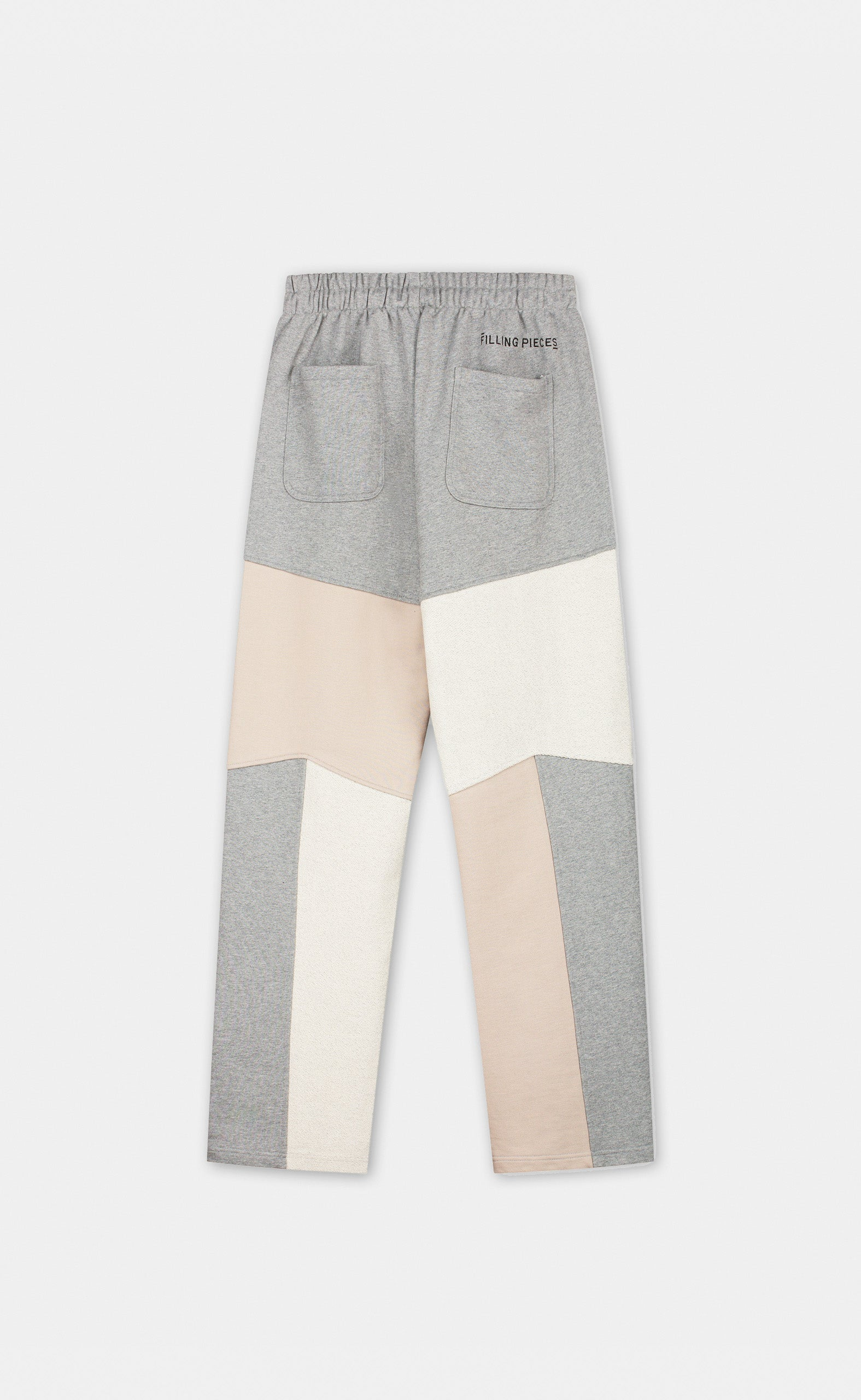 Sweatpants Patchwork Grey - women