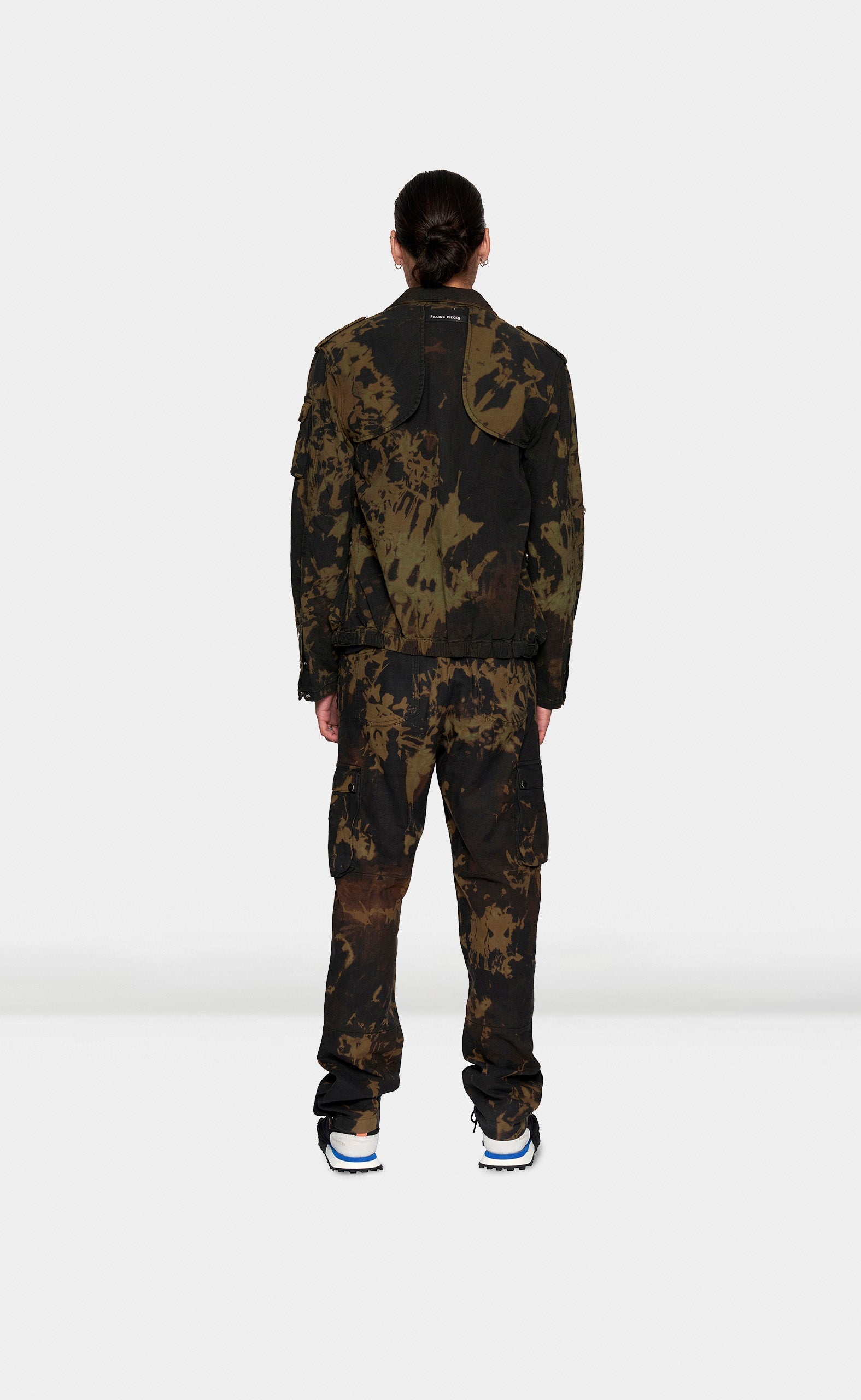 Military Jacket Tie Dye - men