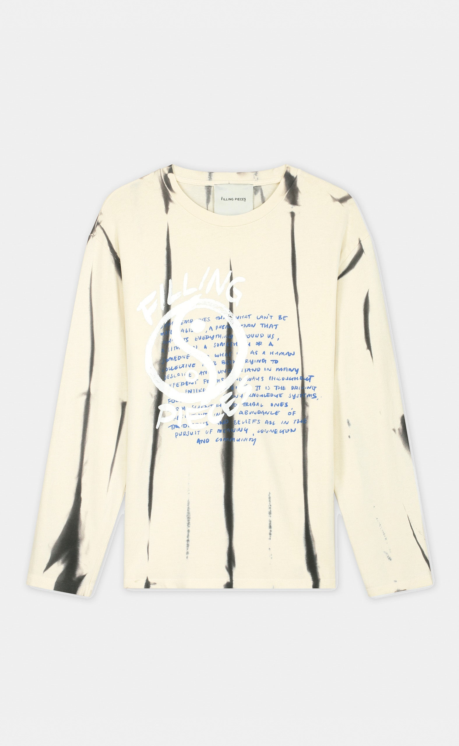 Graphic Longsleeve FP Yin Yang Off White - men