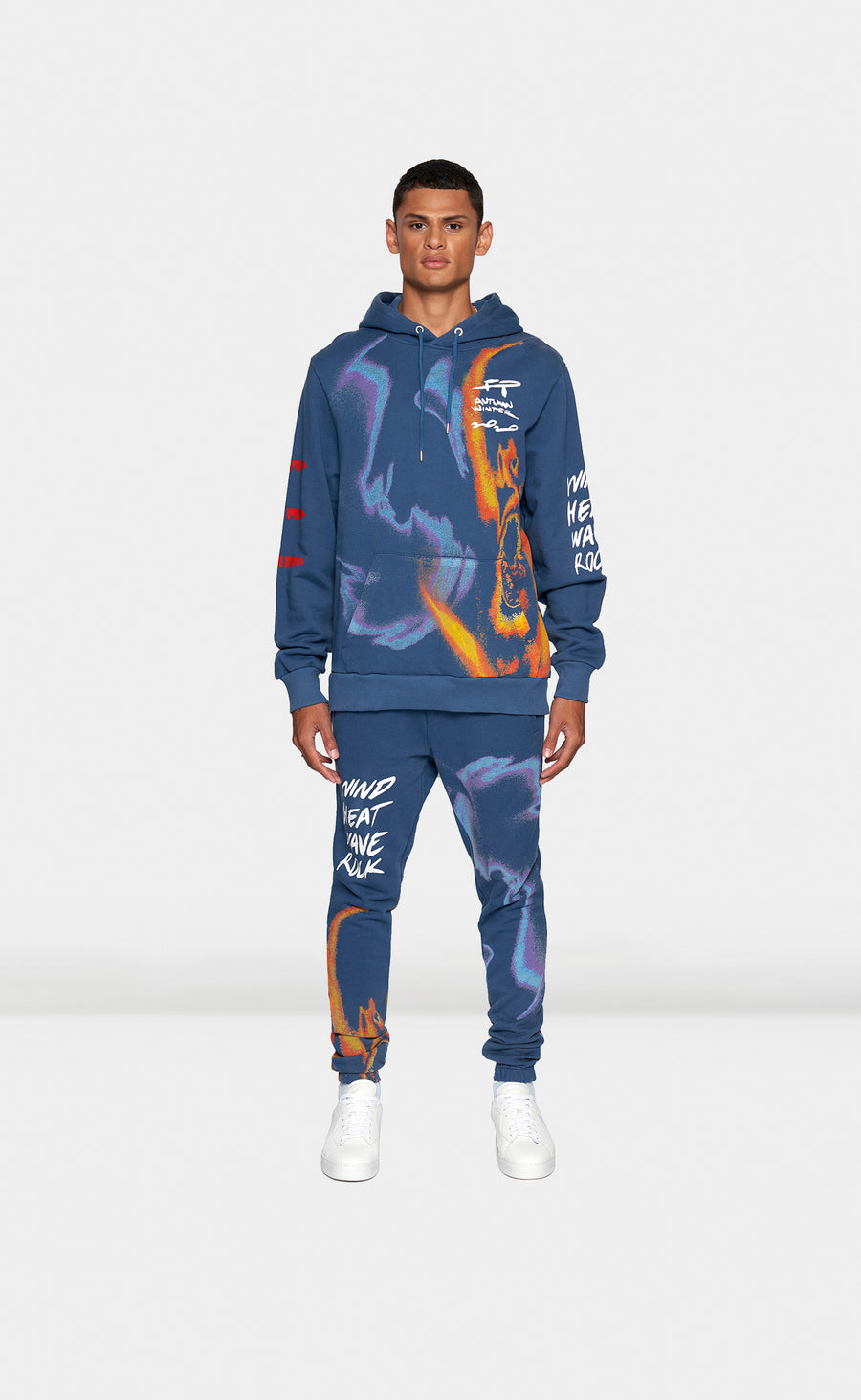 Graphic Hoodie FP Storm Blue - men