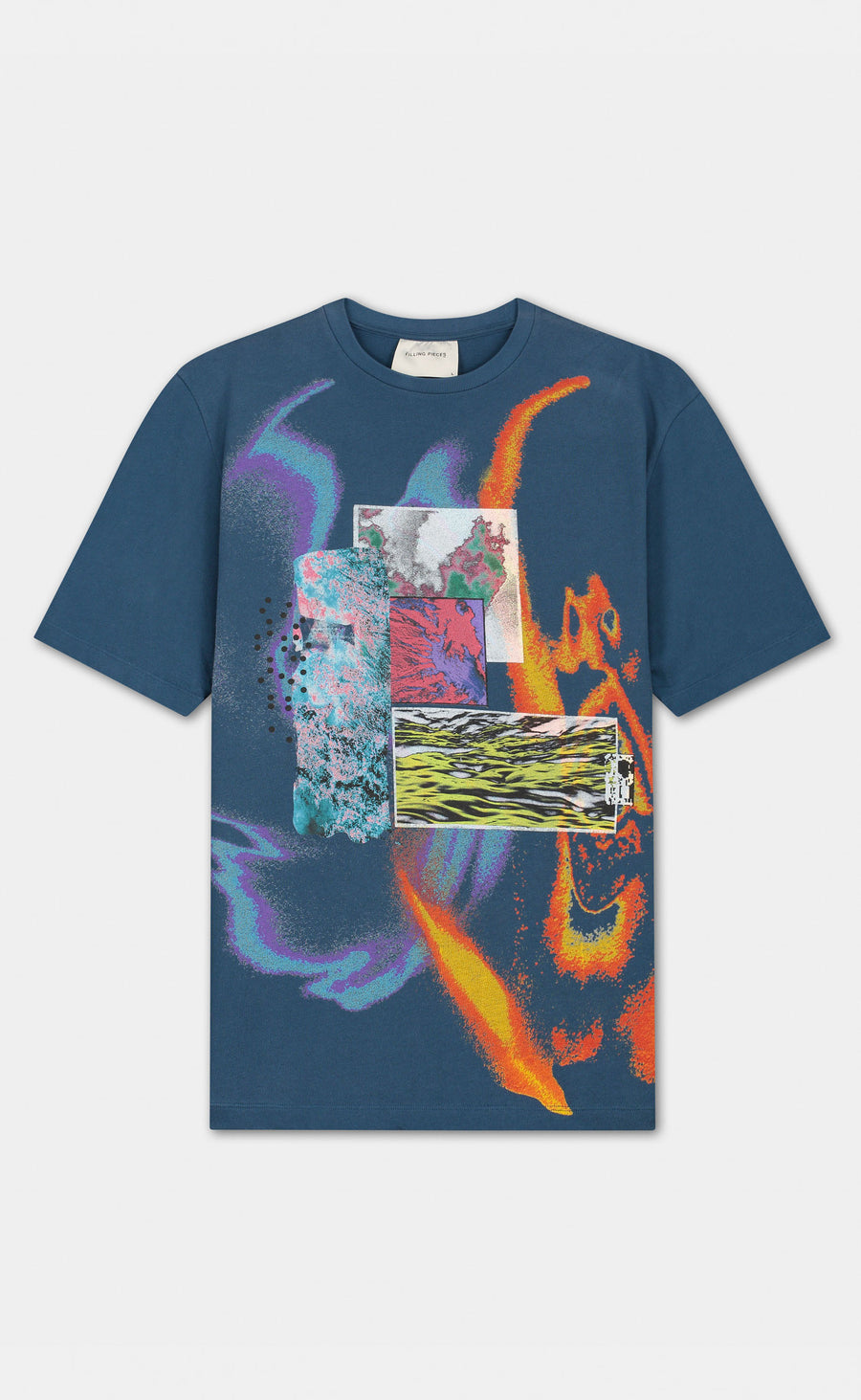 Graphic Tee FP Storm Blue - men