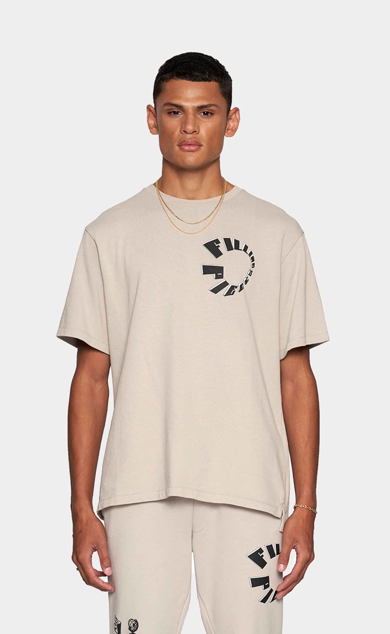 Graphic Tee FP Circle Grey - men