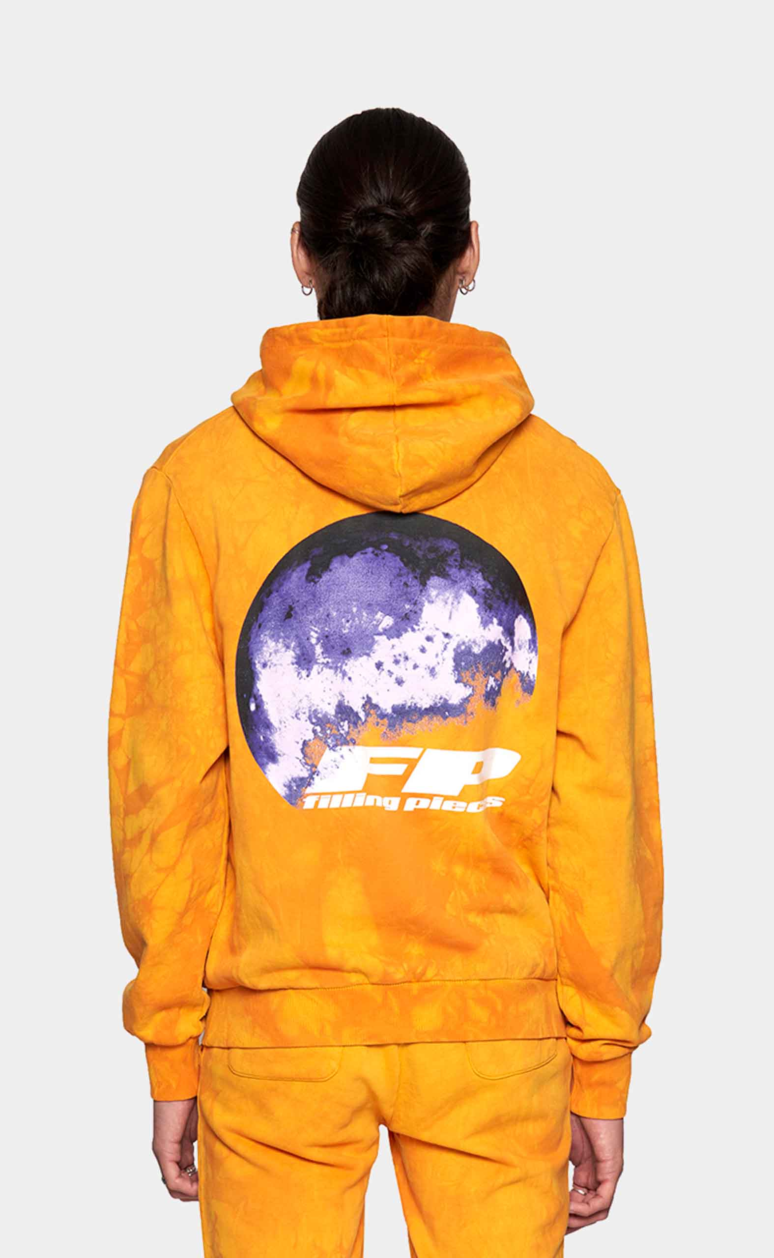 Graphic Hoodie FP World Orange - men