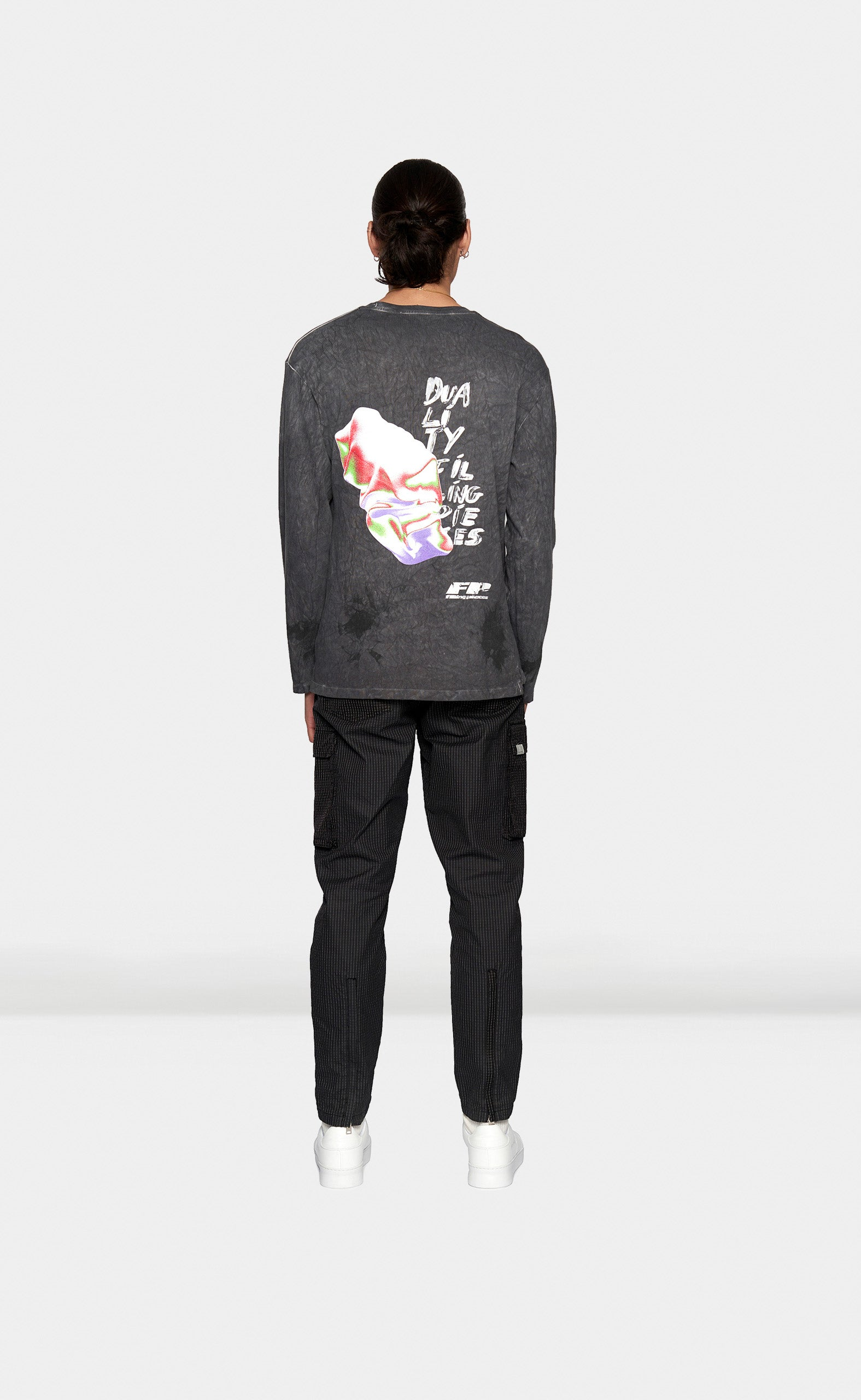 Graphic Longsleeve FP Rock Black - men