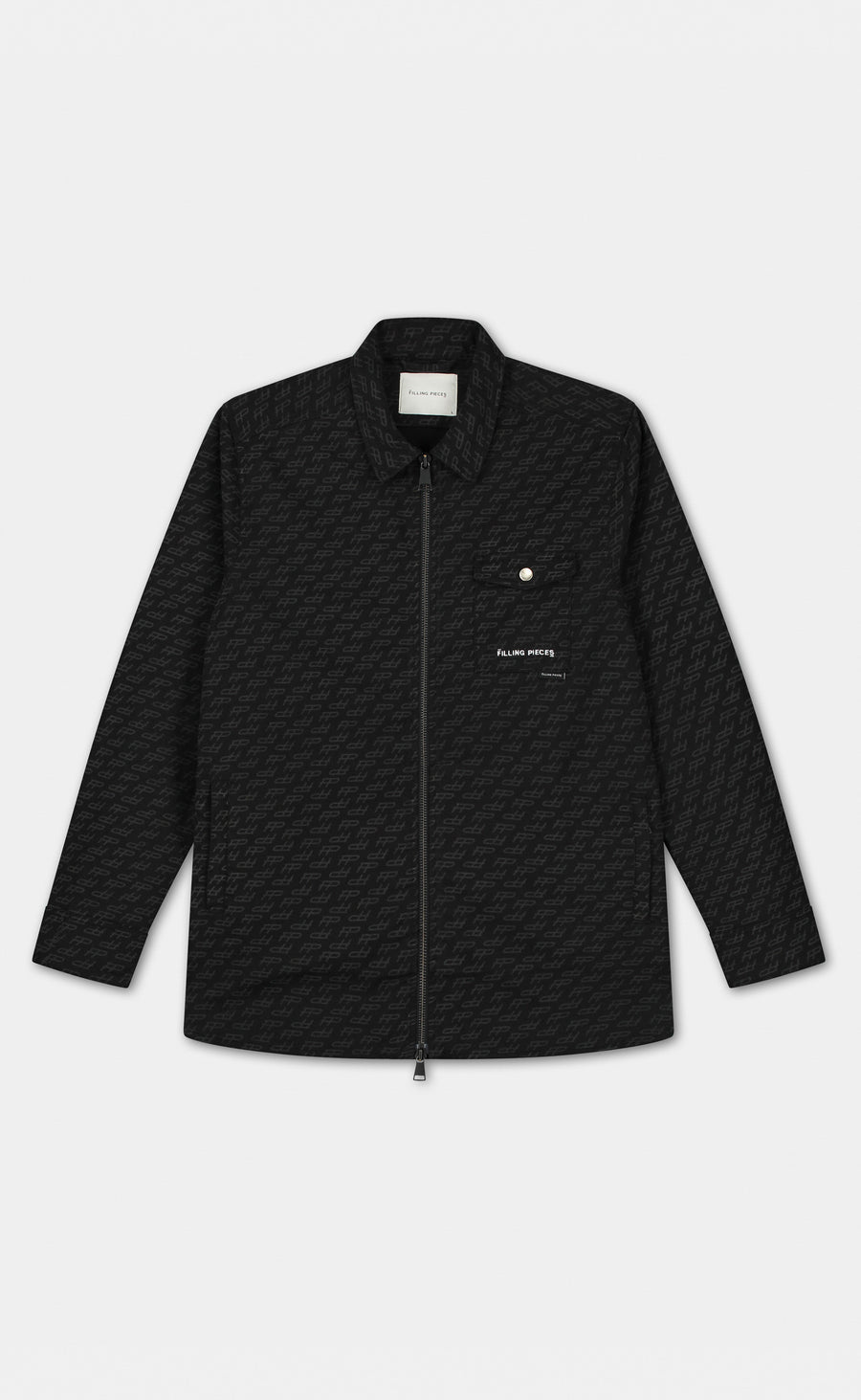 Denim Jacket FP Monogram Black - men