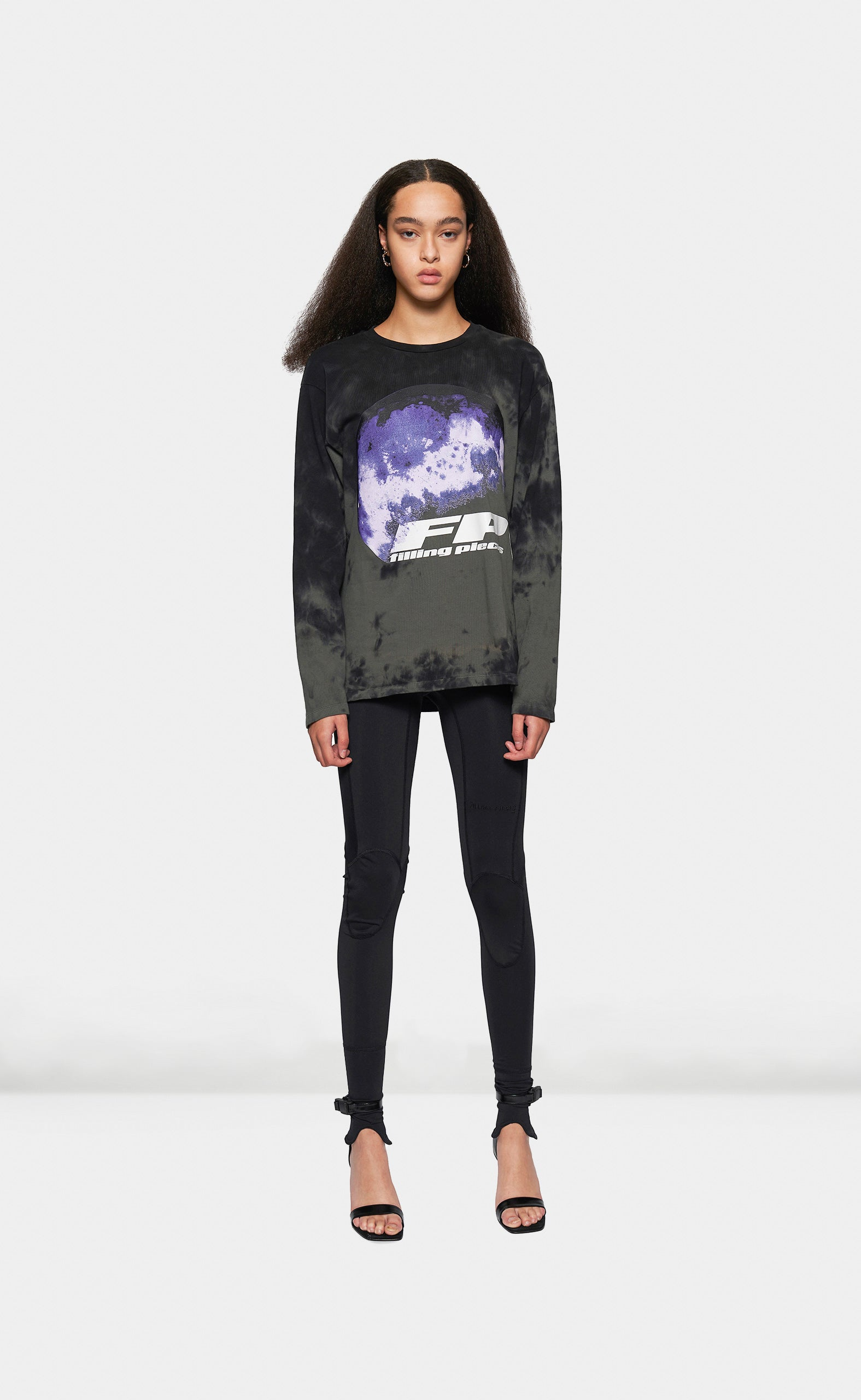 Graphic Longsleeve FP World Black - women