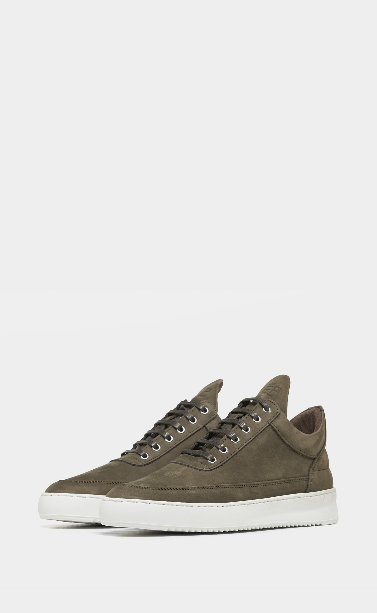 Low Top Ripple Nubuck Dark Green - women