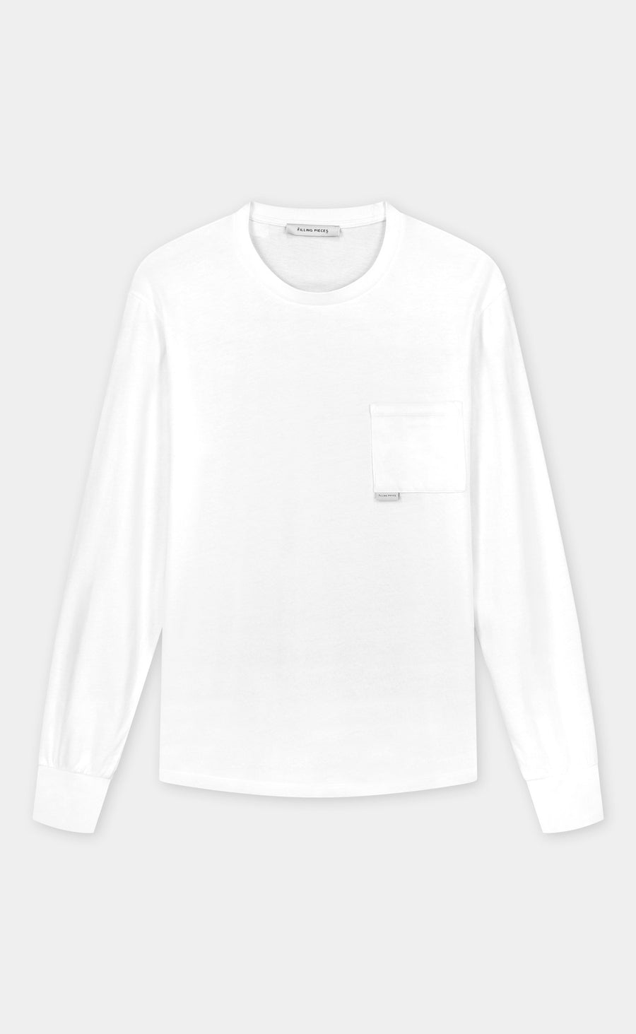 Pocket Longsleeve White - men