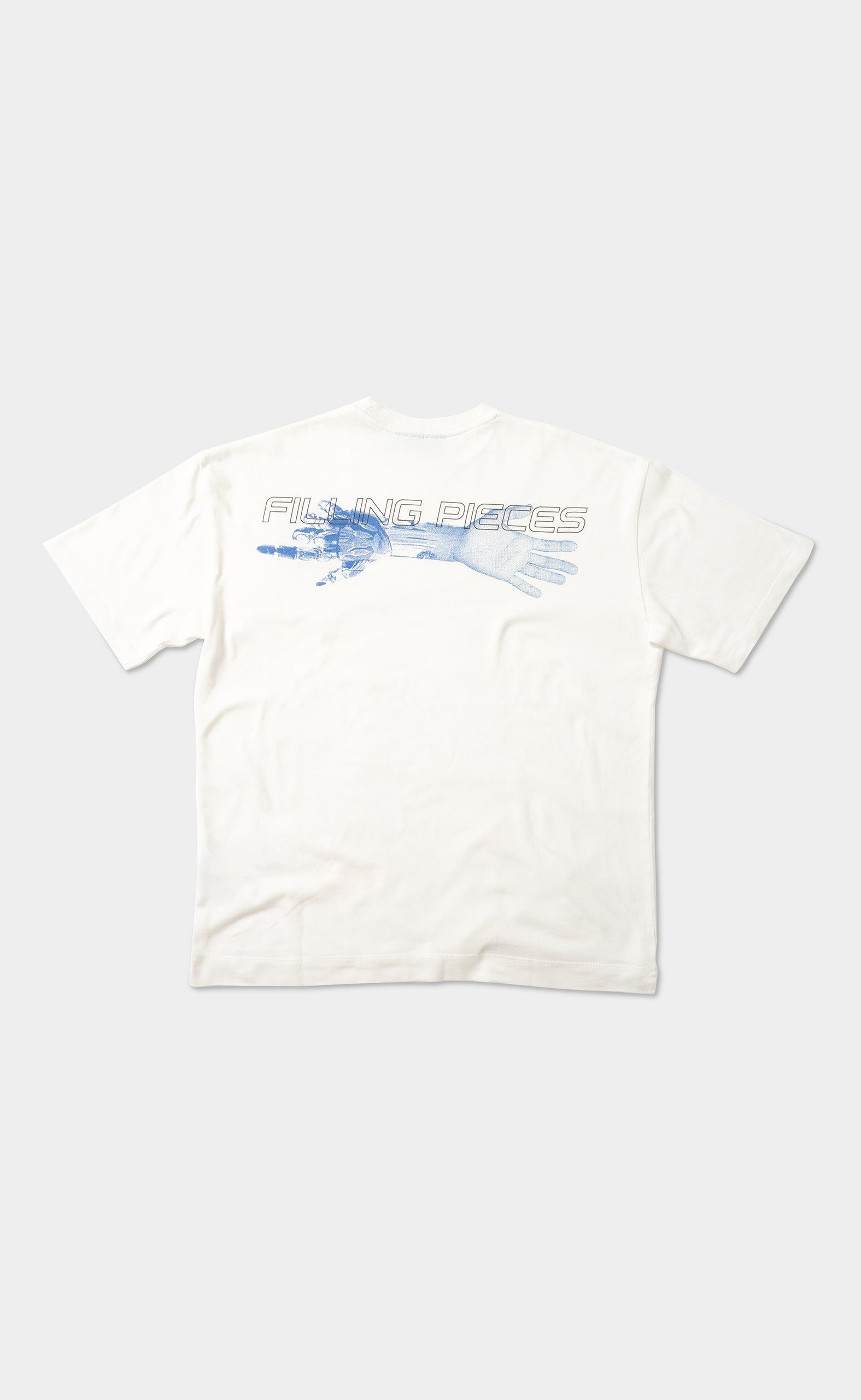 Graphic Tee Time Pill White