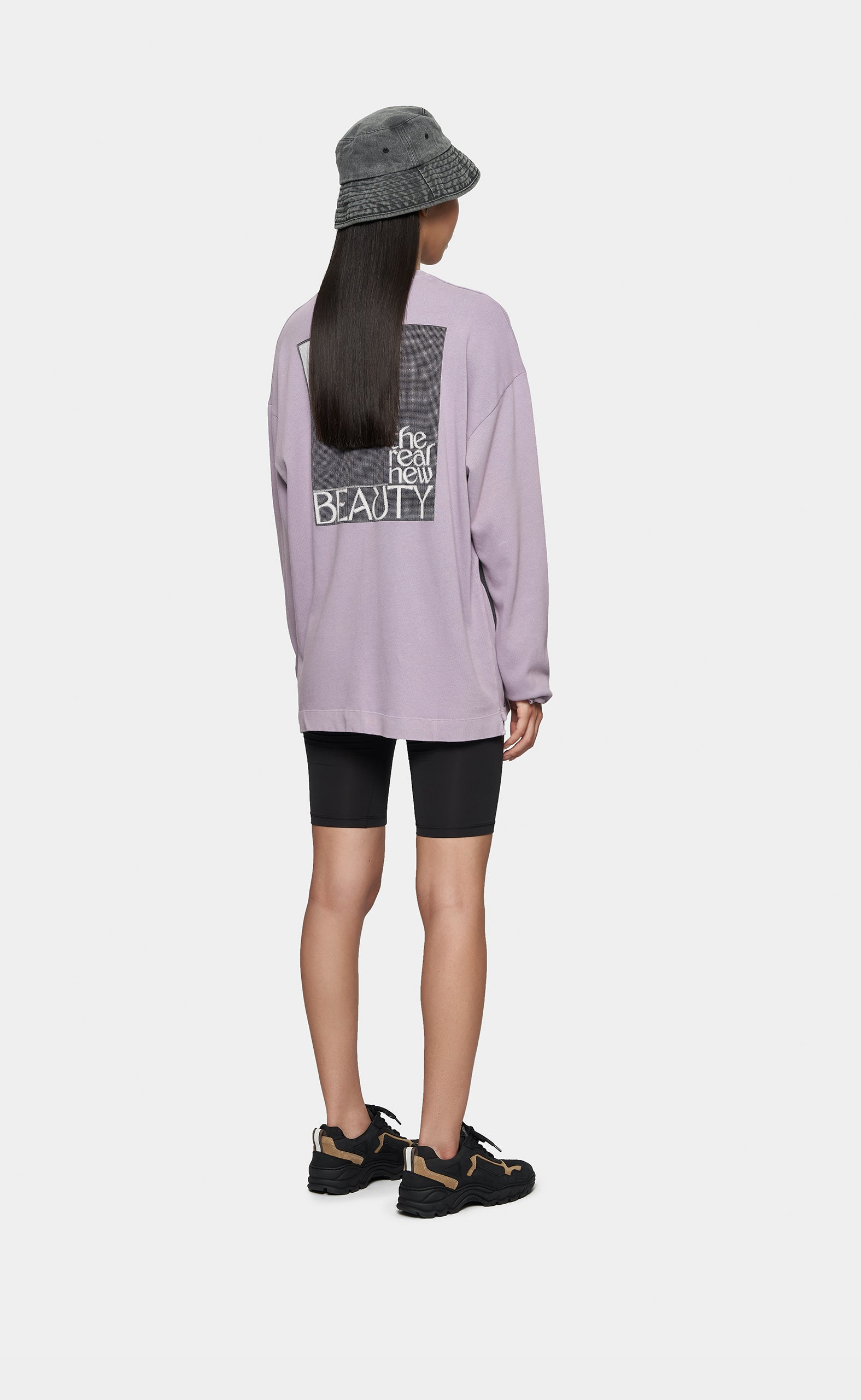 Longsleeve Real Beauty Lilac - women