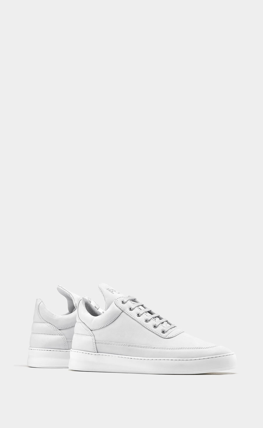 Low Top Plain Lane Nubuck White - men