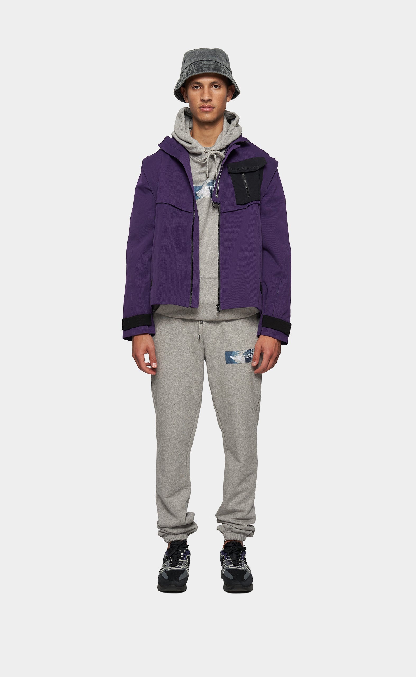 Tech Jacket Purple