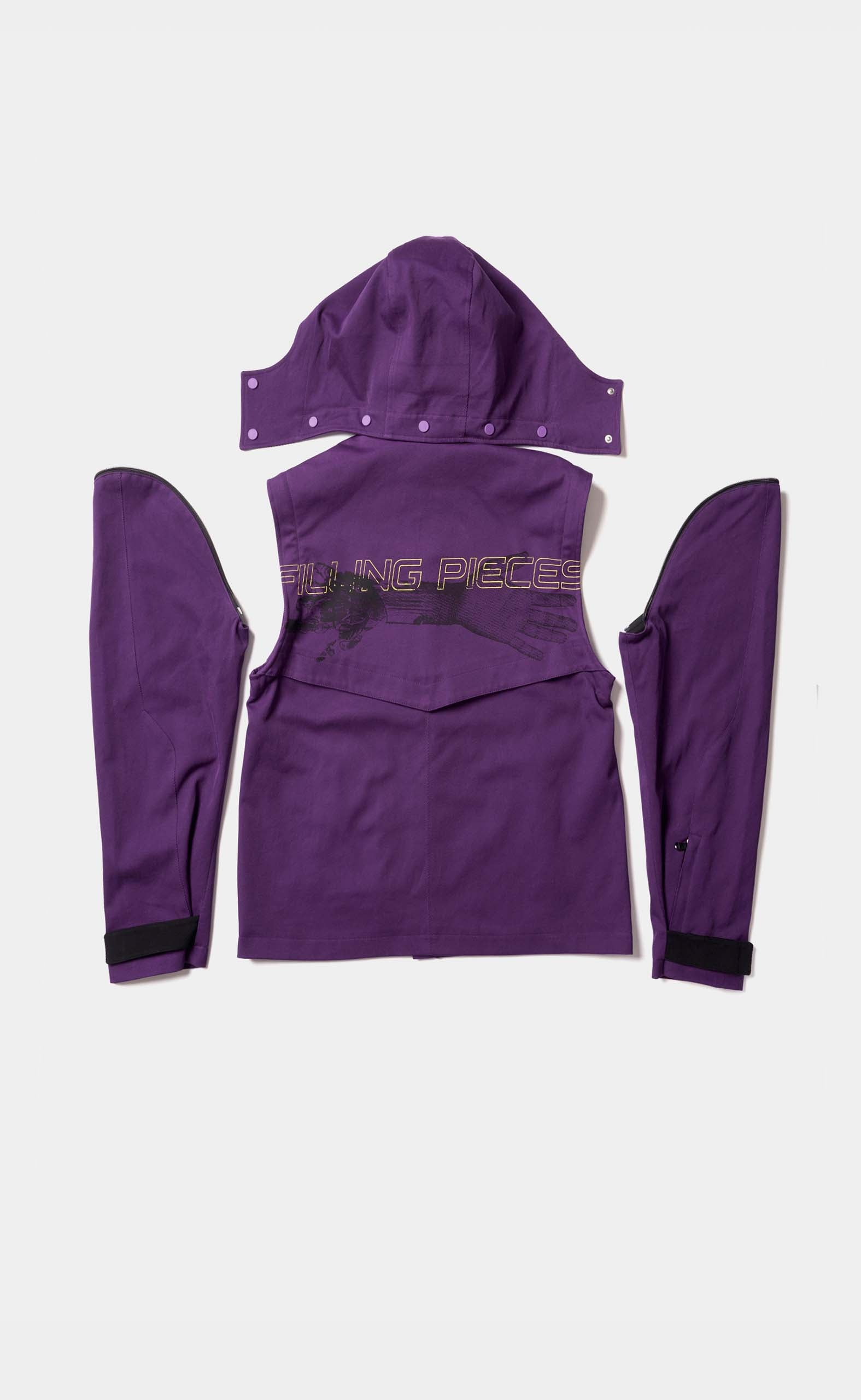 Tech Jacket Purple - men