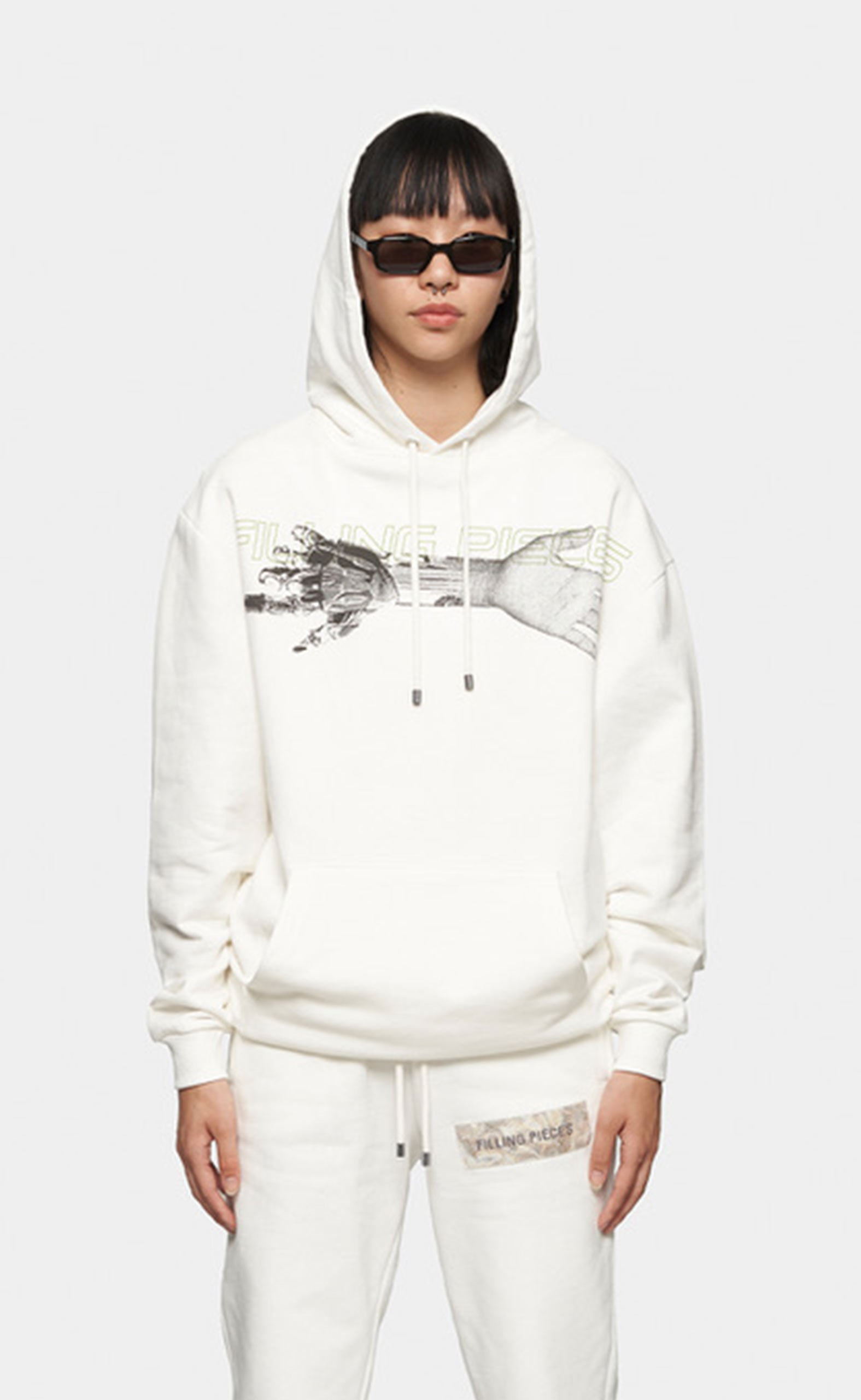 Graphic Hoodie Respect The Old Off White