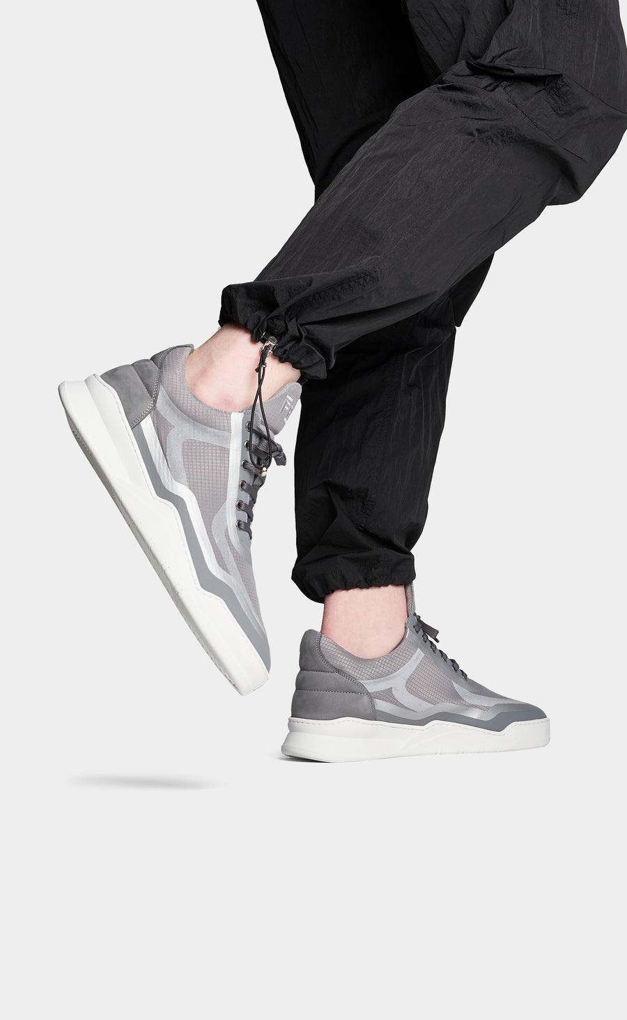 Low Top Ghost Steam All Grey - men