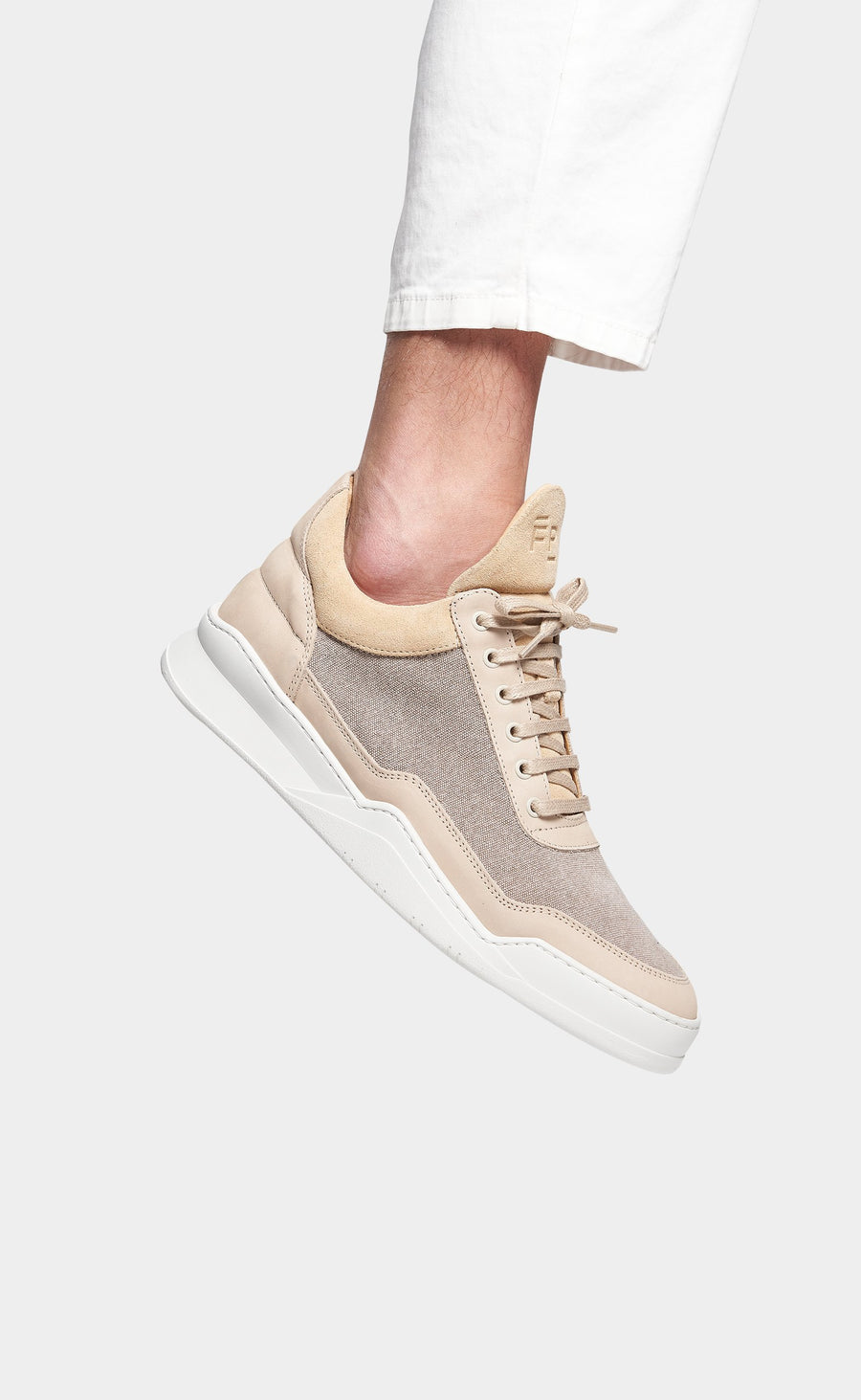 Low Top Ghost Canvas Beige