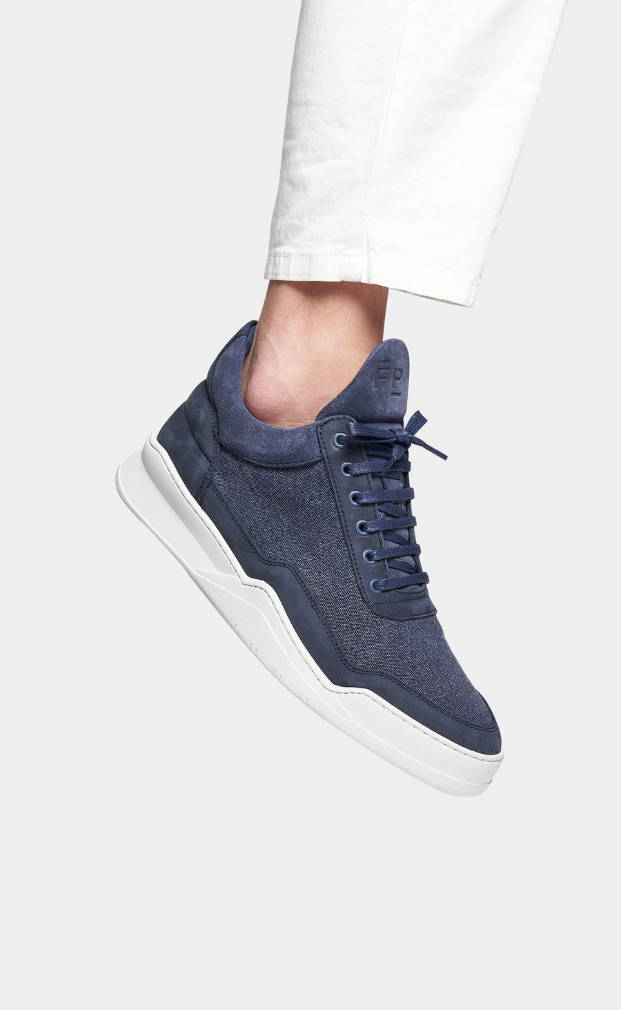 Low Top Ghost Canvas Navy