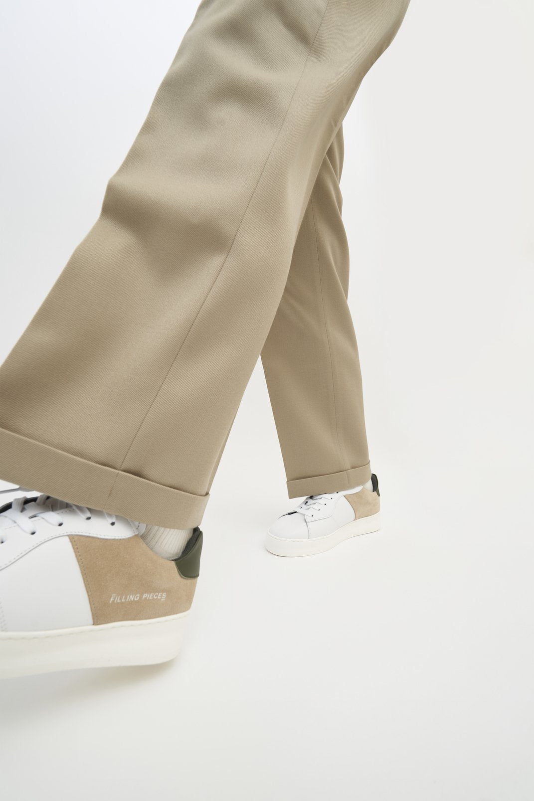Low Plain Court Beige - men