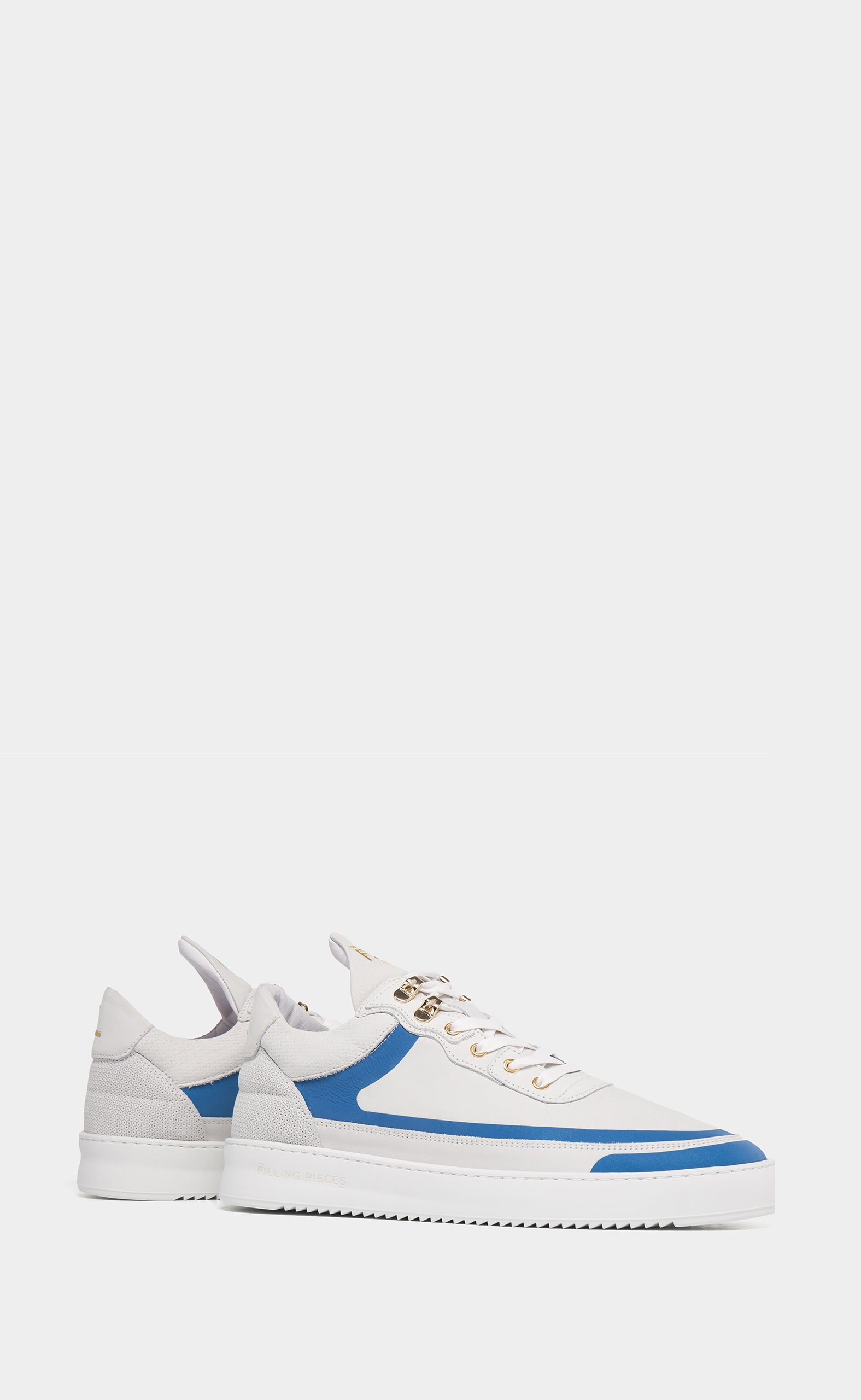Low Top Ripple Meta White / Blue