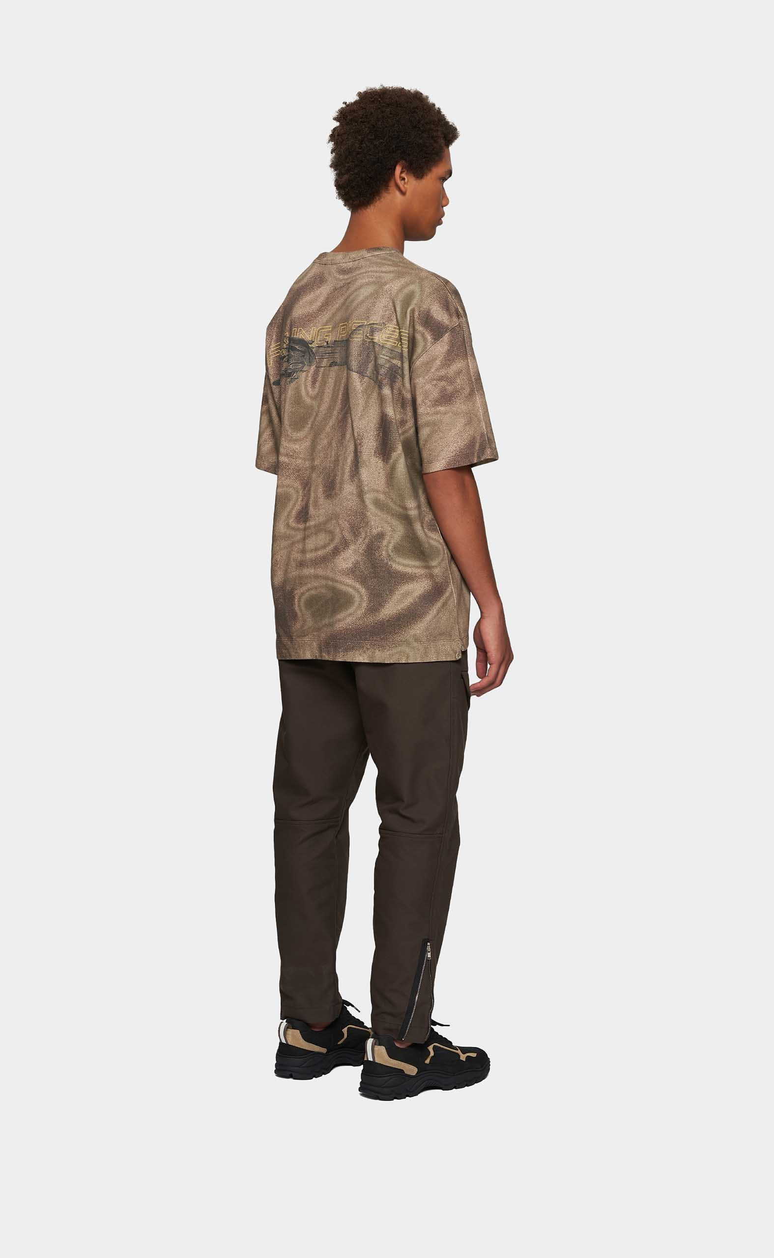 Graphic Tee Respect The Old Camo - men