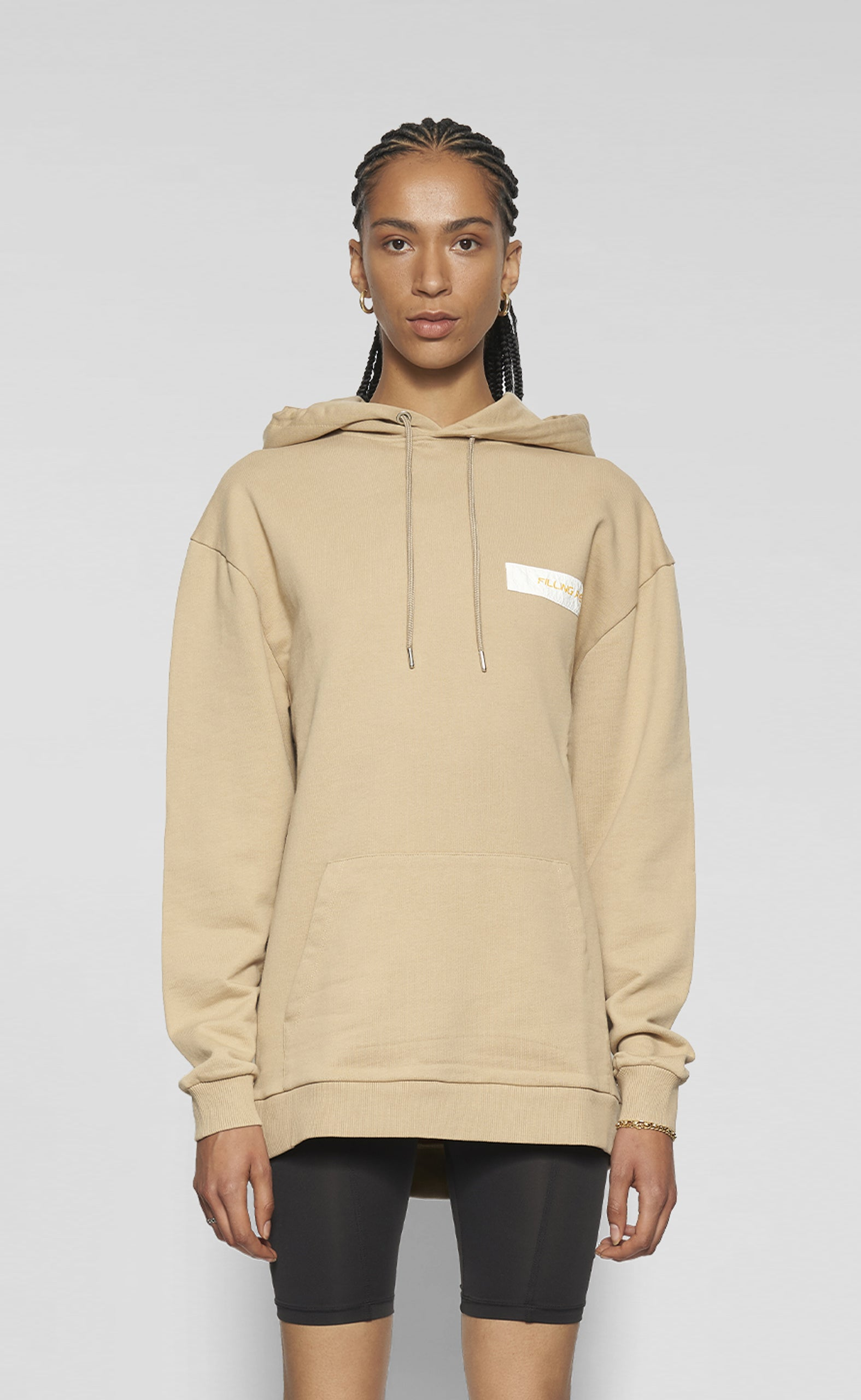 Graphic Hoodie No Borders Nomad - women
