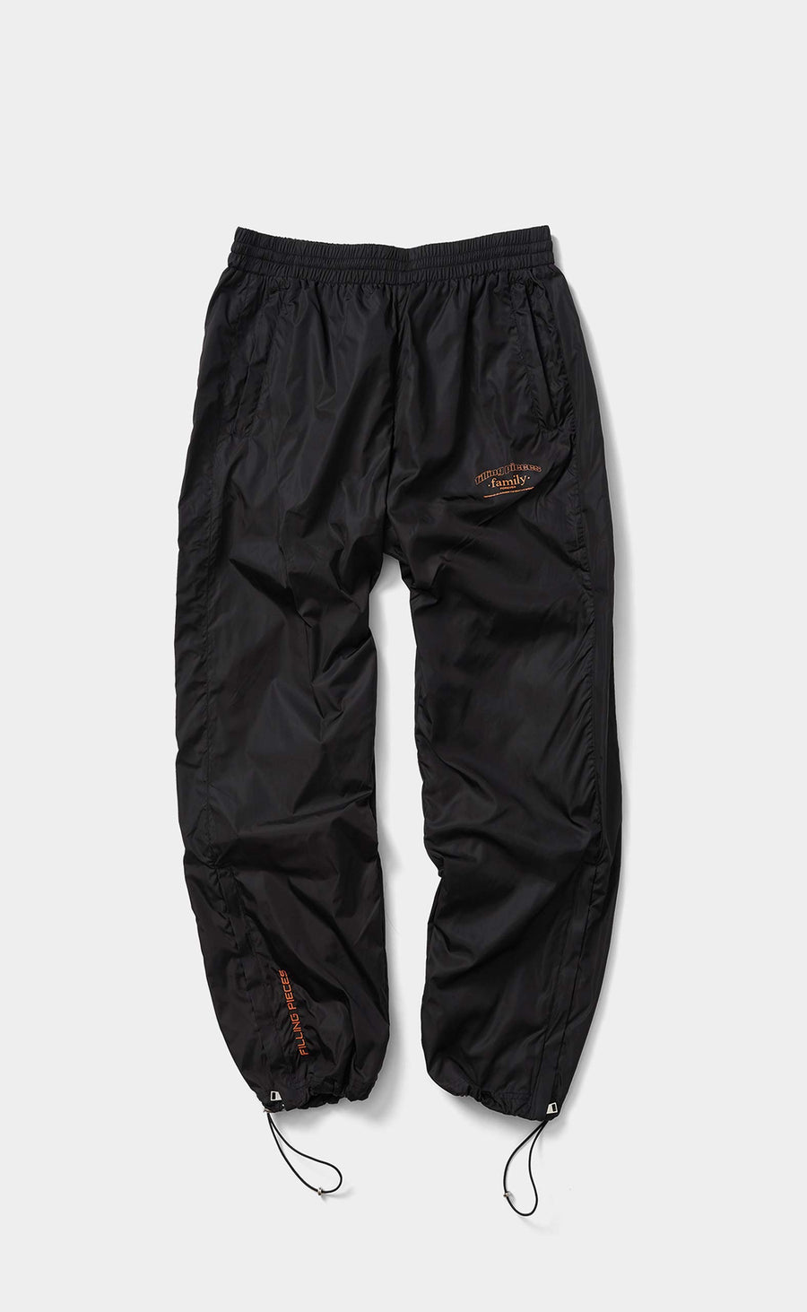 Nylon Cord Pants Wide Fit Classic Black - men