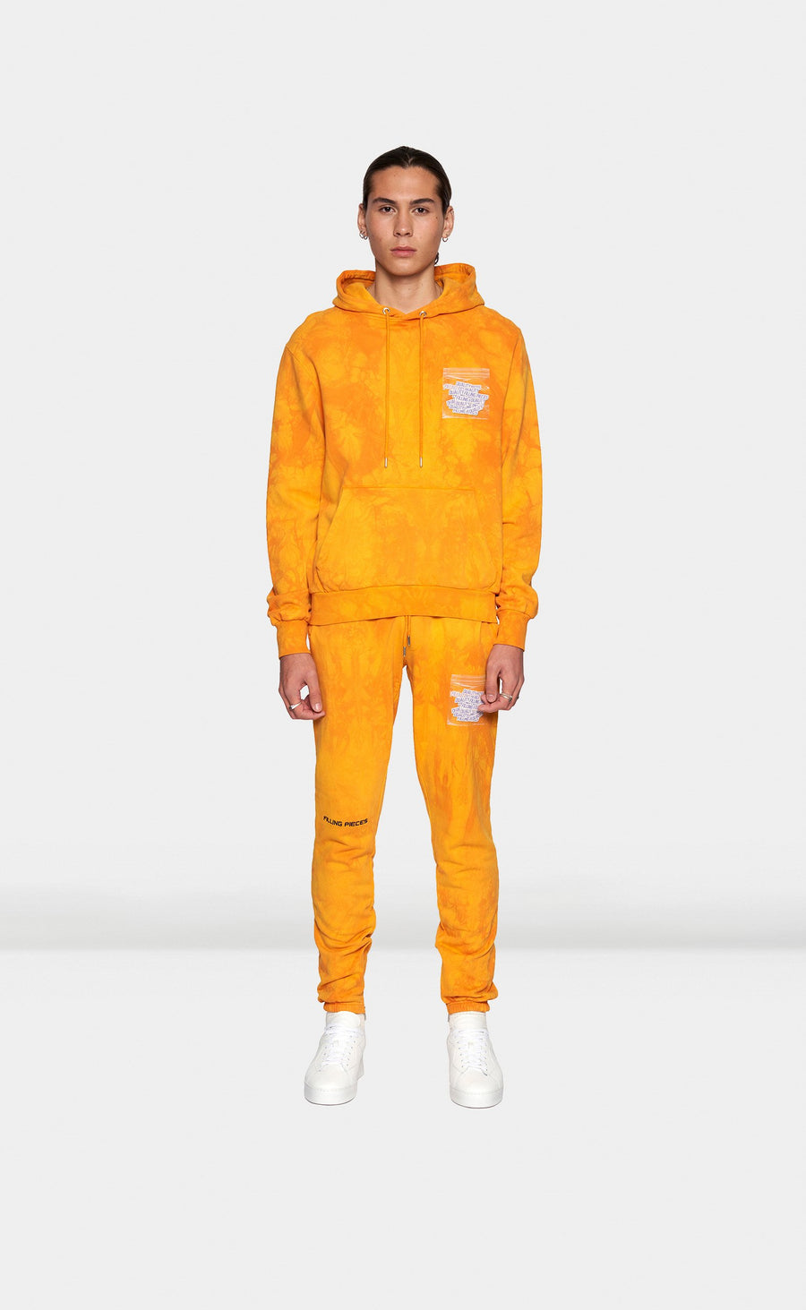 Graphic Sweatpants FP World Orange - men