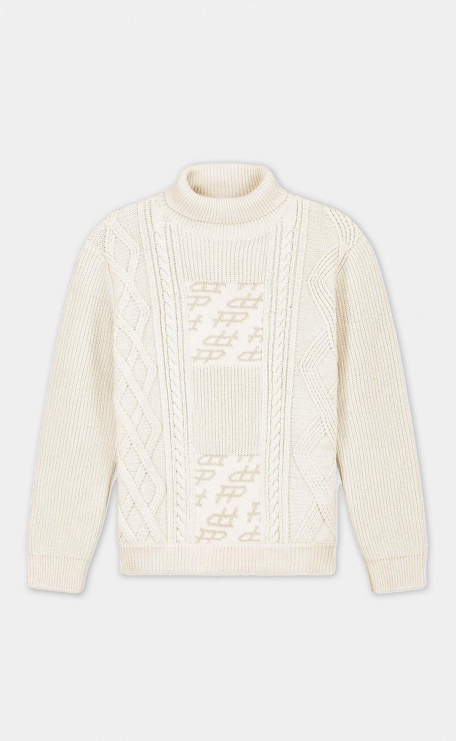 Heavy Knit Beige - men
