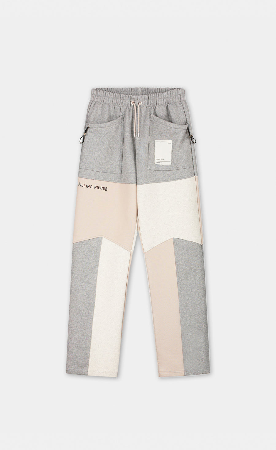 Sweatpants Patchwork Grey - men