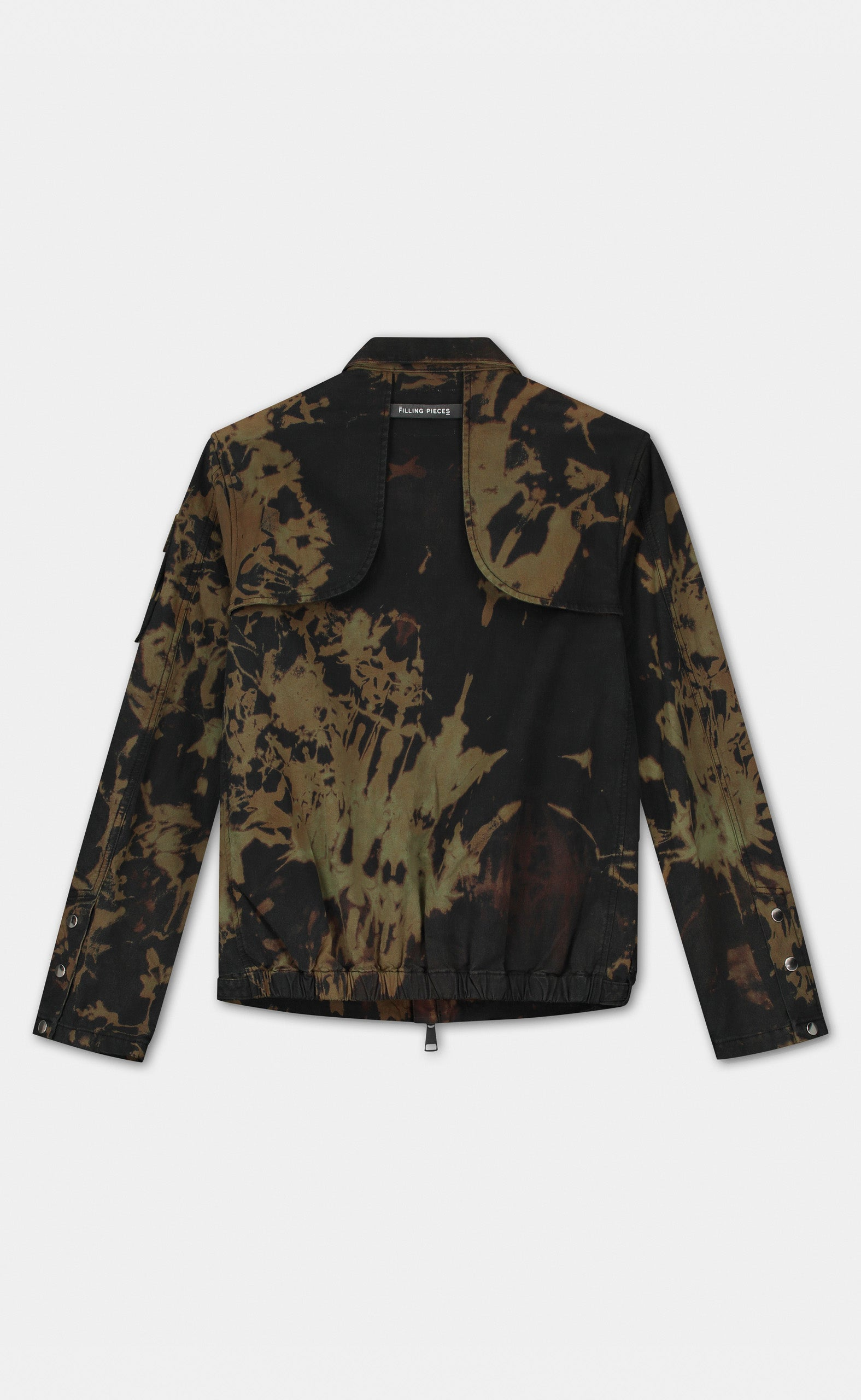 Military Jacket Tie Dye - women