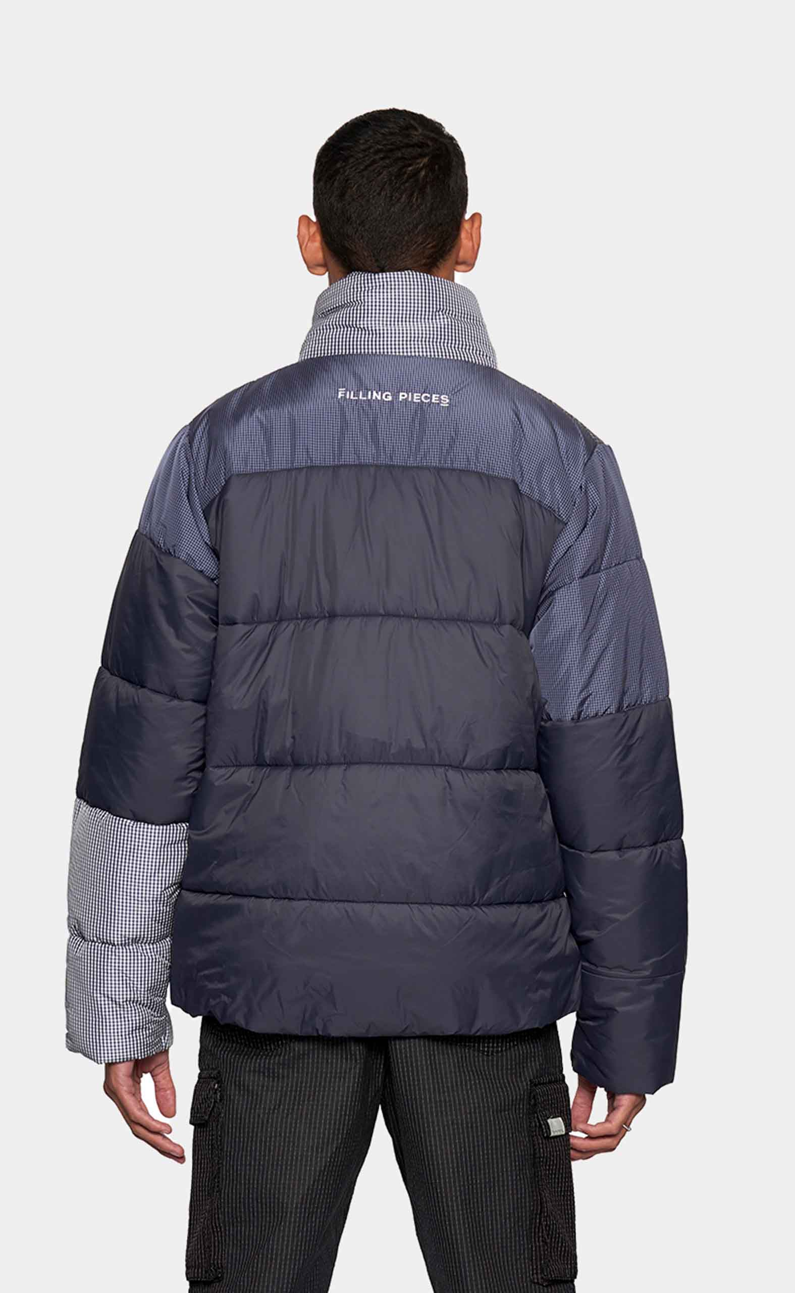 Puffer Jacket Patchwork - men