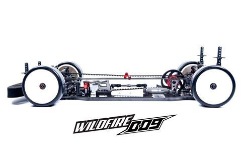 VBC WildFireD09 1:10 Touring Car Kit(D-05-VBC-CK25)