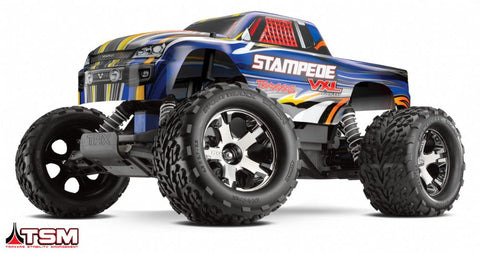 Traxxas 1/10 Stampede VXL 2WD RTR Monster Truck