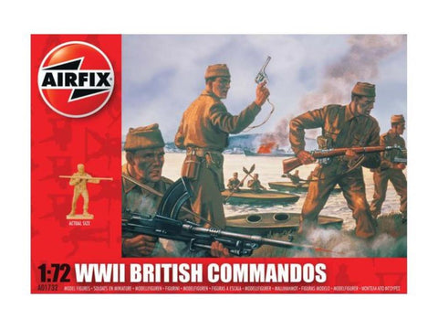 AIRFIX BRITISH COMMANDOS 1/72