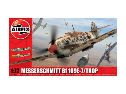 AIRFIX MESSERSCHMITT BF109E - TROPICAL 1/72